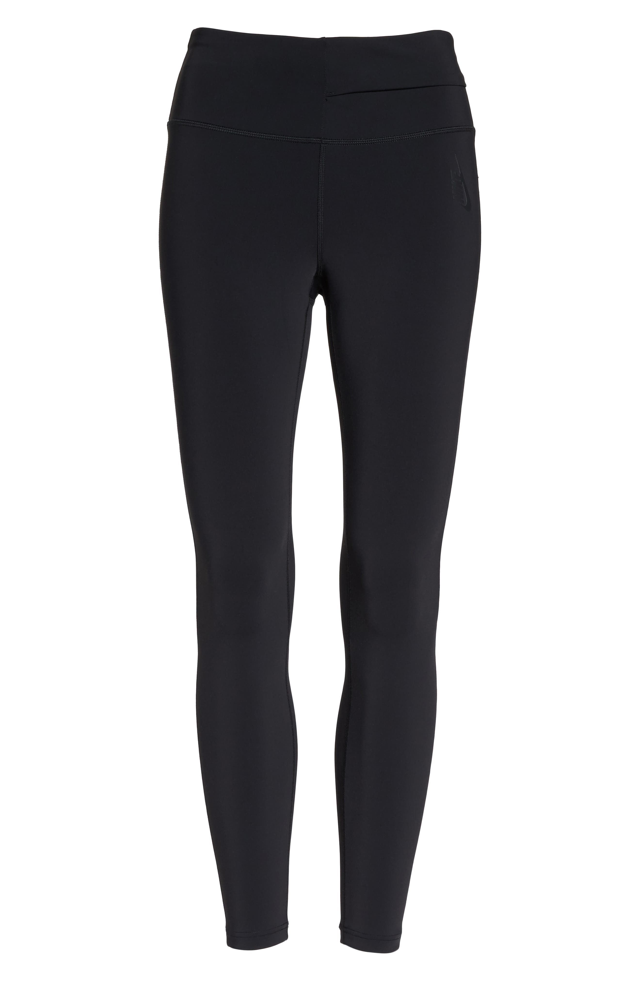 NikeLab Women's Tights,                             Alternate thumbnail 7, color,                             BLACK/ BLACK