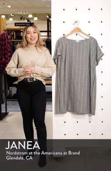 Stripe Hemp & Organic Cotton Shift Dress, sales video thumbnail