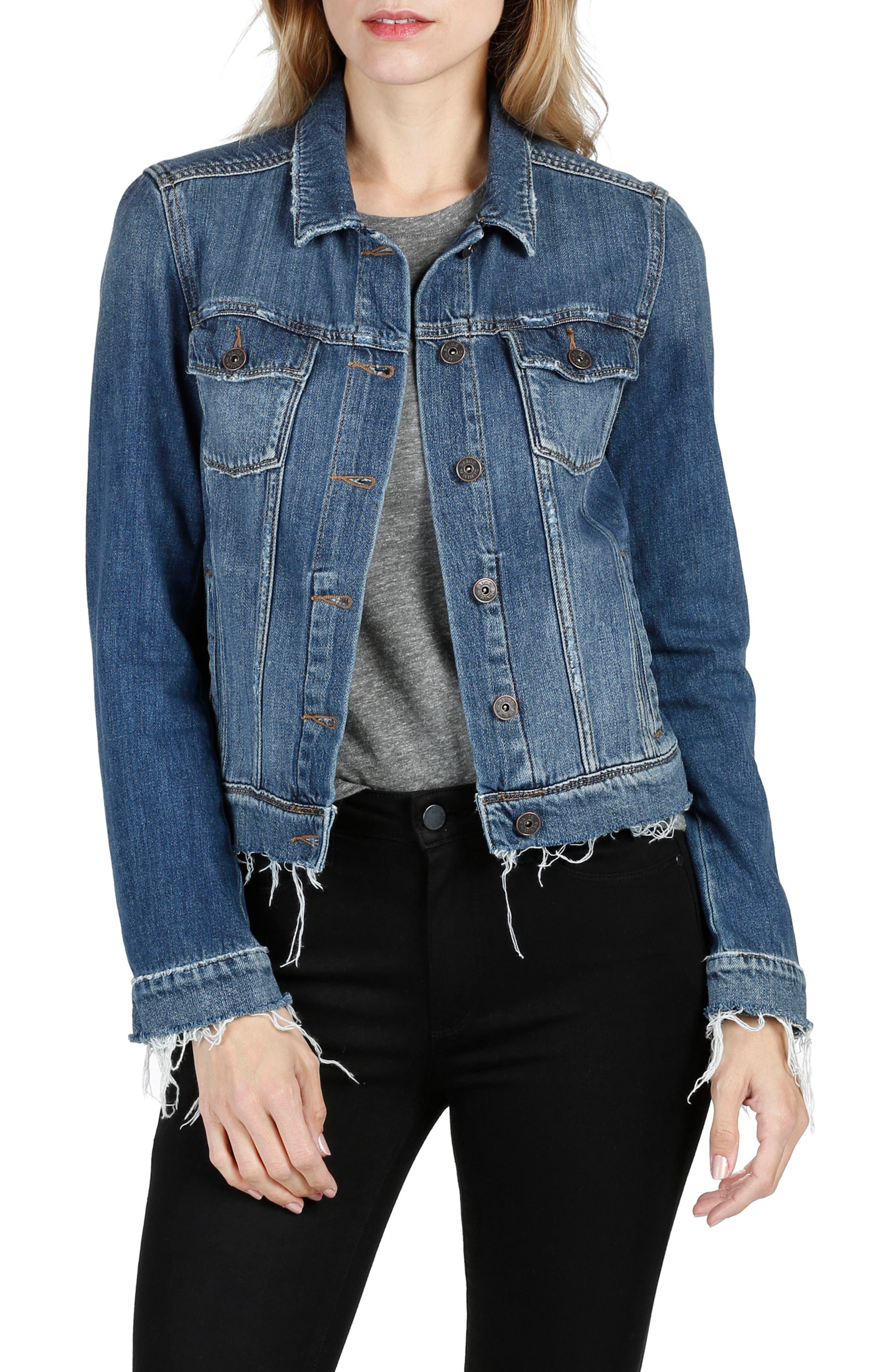 Rowan Denim Jacket,                         Main,                         color, 400