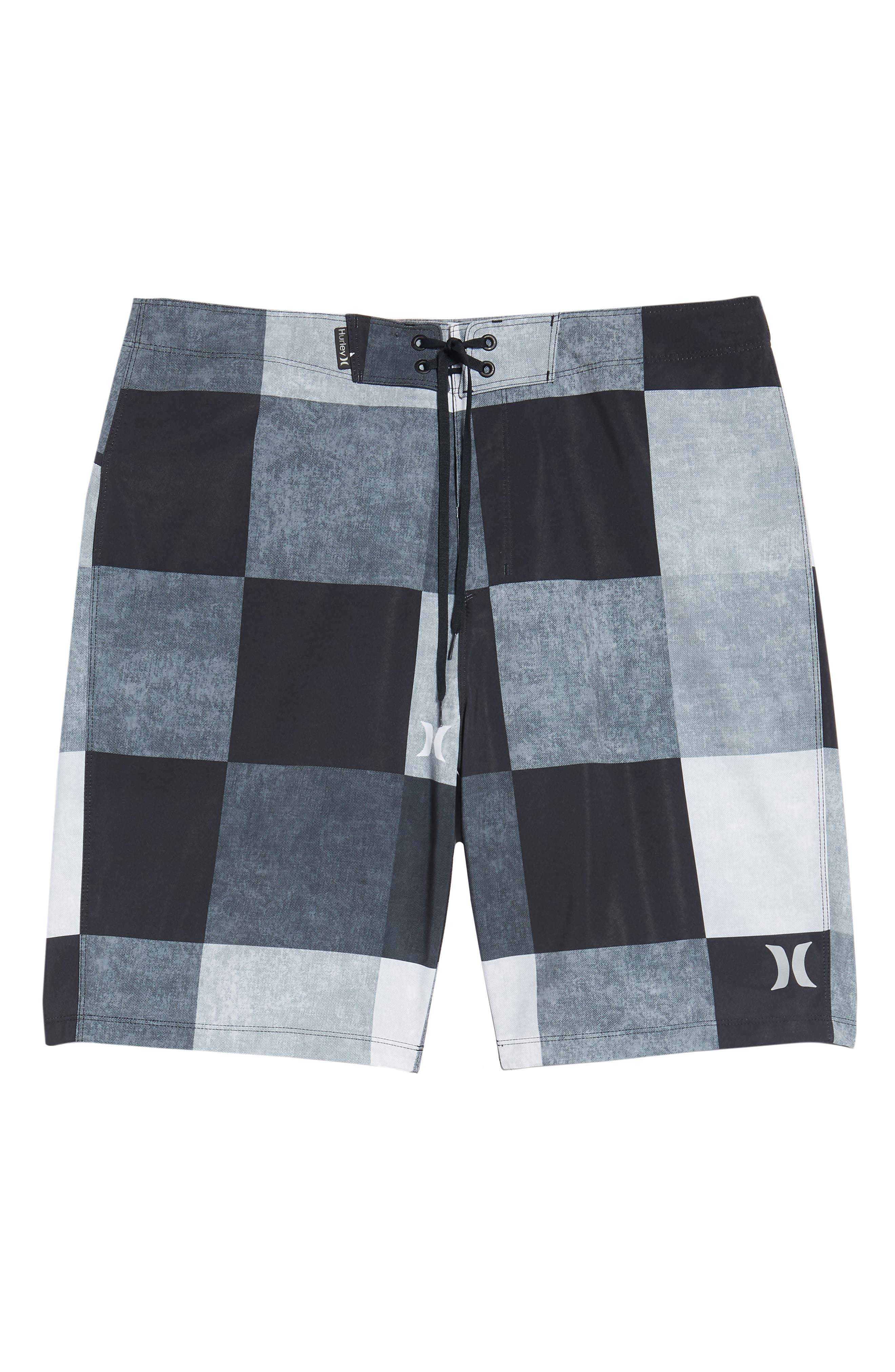 Phantom Kingsroad Board Shorts,                             Alternate thumbnail 6, color,                             BLACK