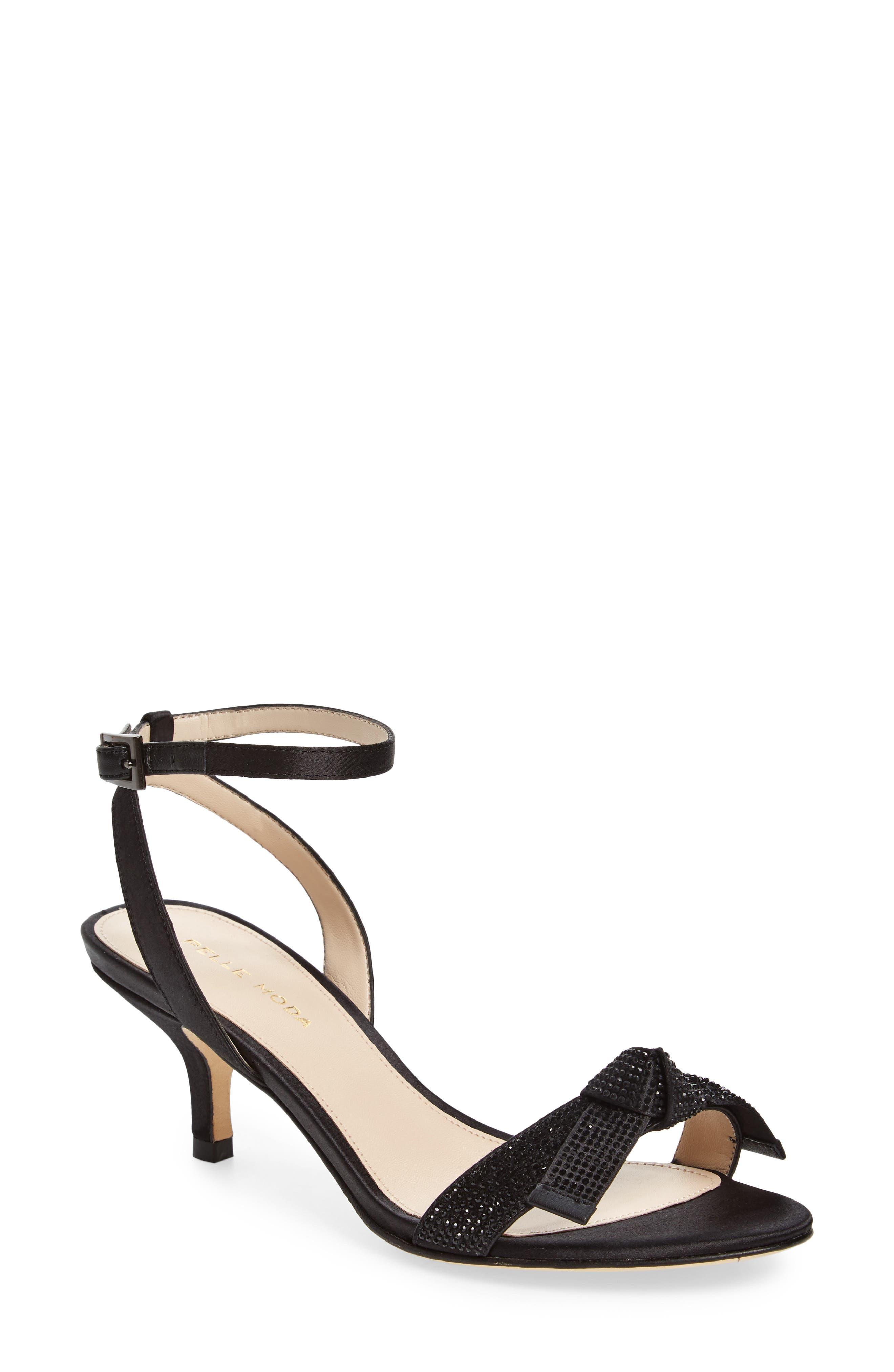 Alexia Sandal,                         Main,                         color, BLACK FABRIC