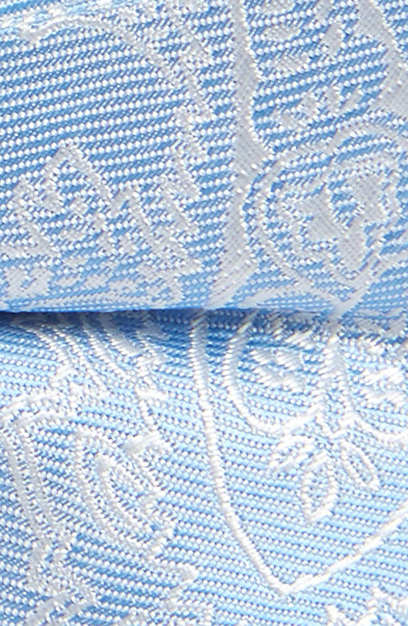Paisley Silk Bow Tie,                             Alternate thumbnail 2, color,