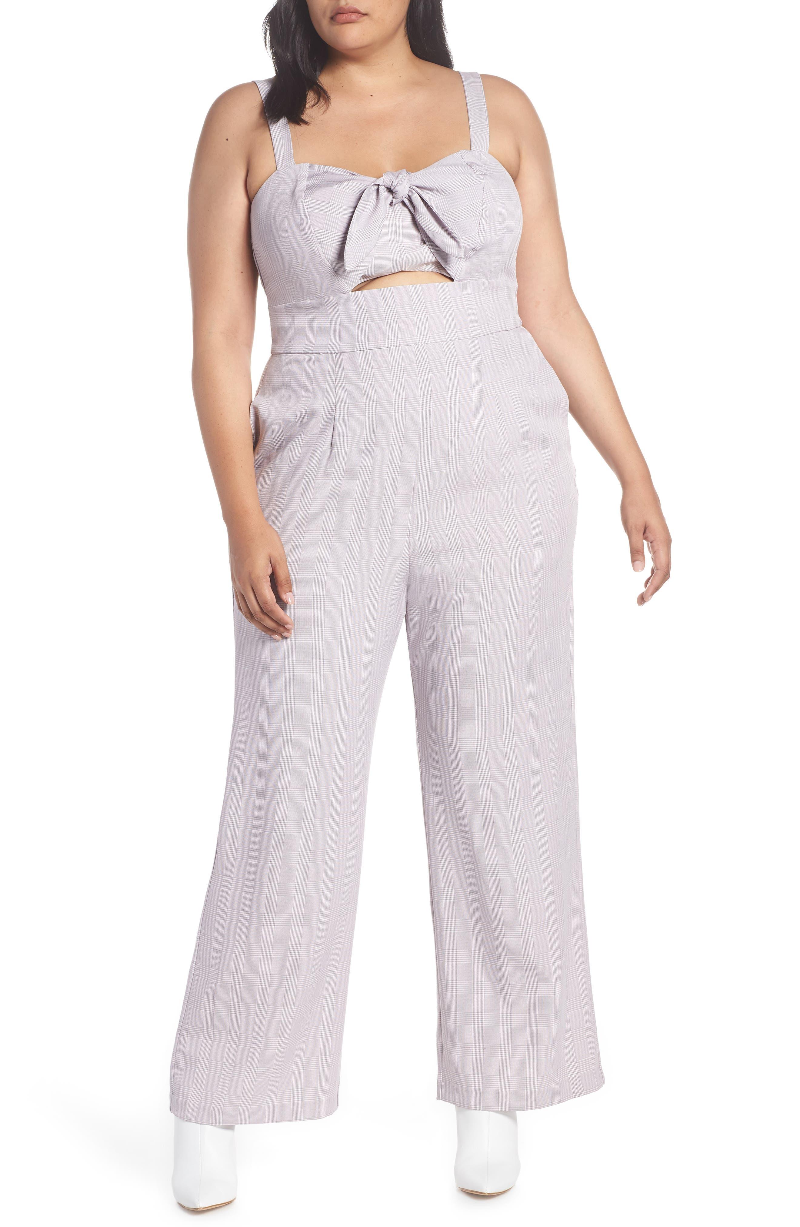 Roxy Jumpsuit,                         Main,                         color, LAVENDER TWEED
