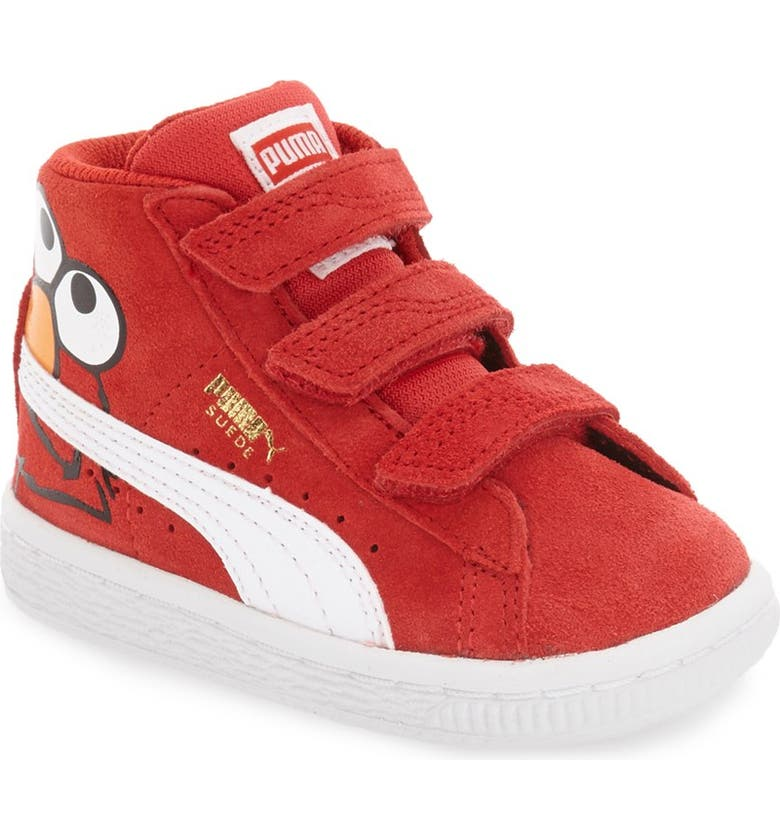 cb0bdbd8690 PUMA  Sesame Street® - Elmo  Mid Top Sneaker (Baby
