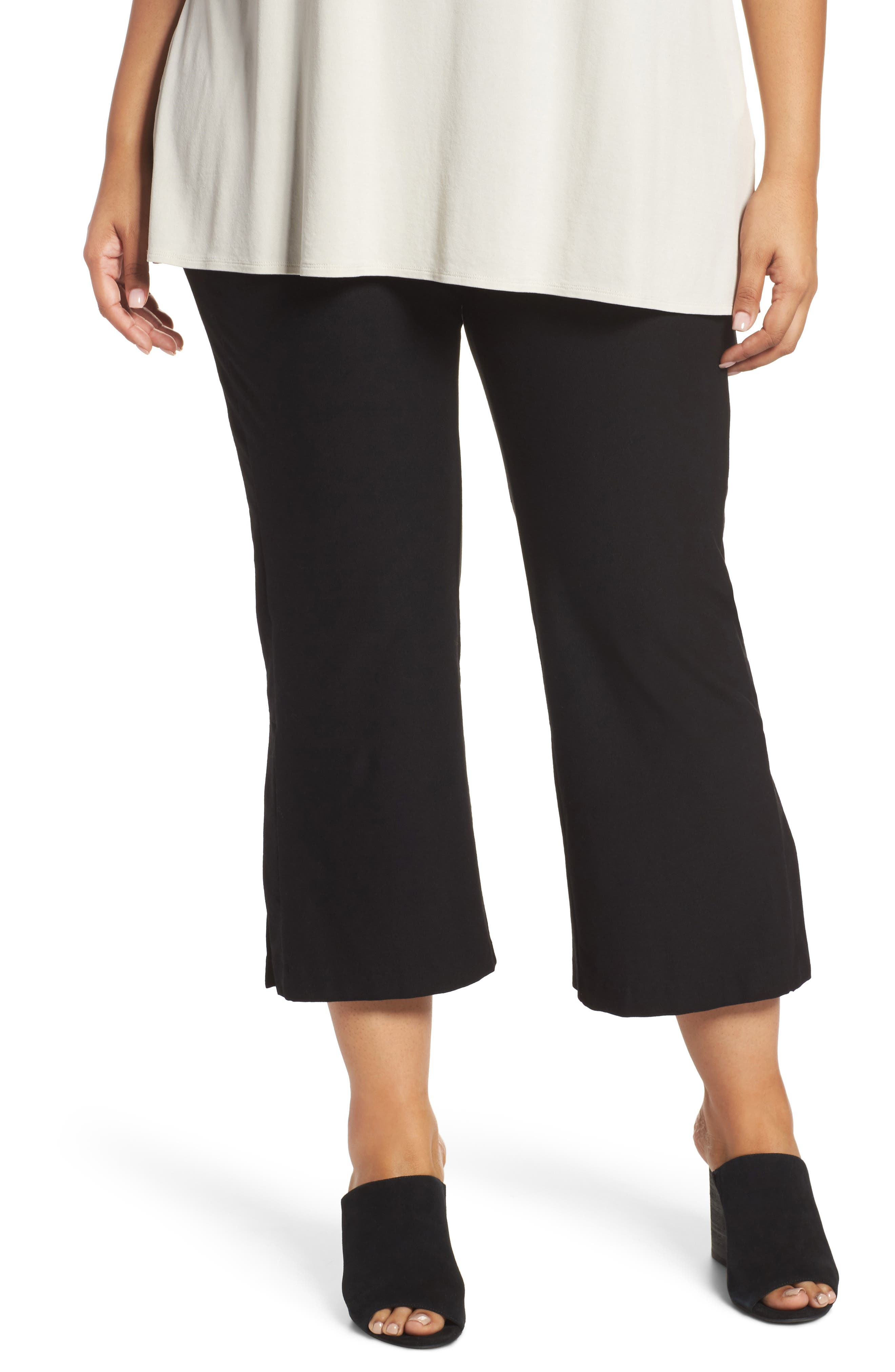 Stretch Bootcut Pants,                         Main,                         color,
