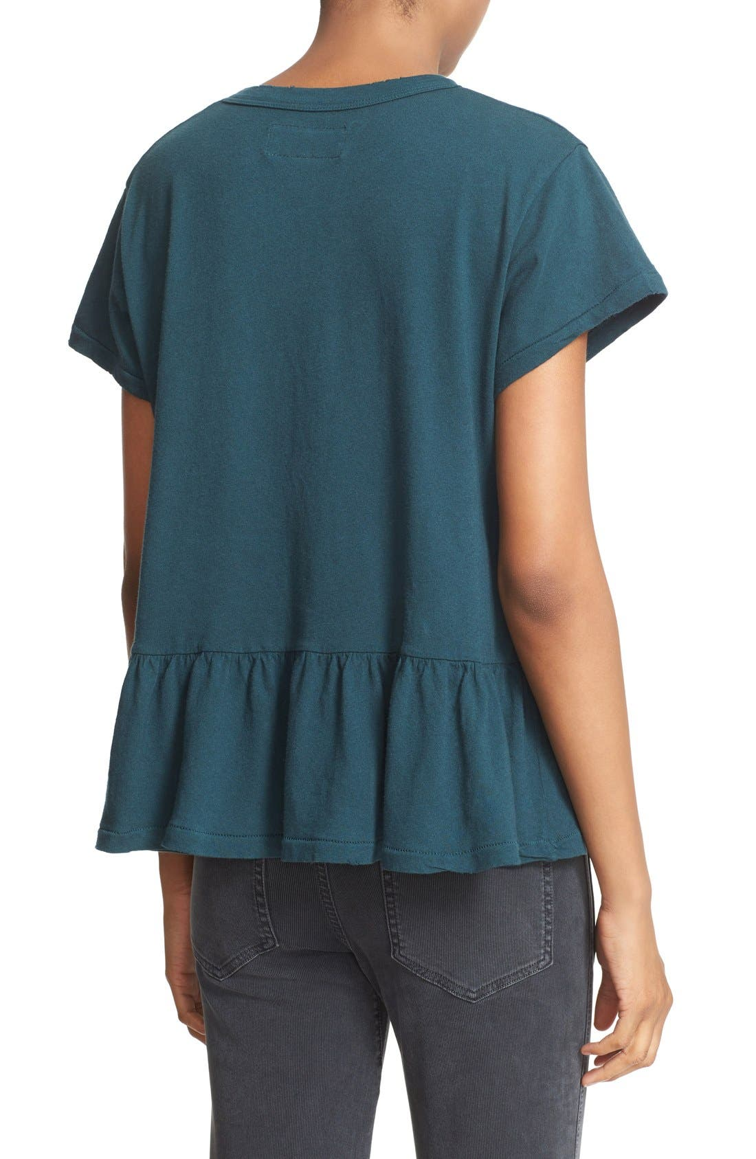 The Ruffle Tee,                             Alternate thumbnail 44, color,