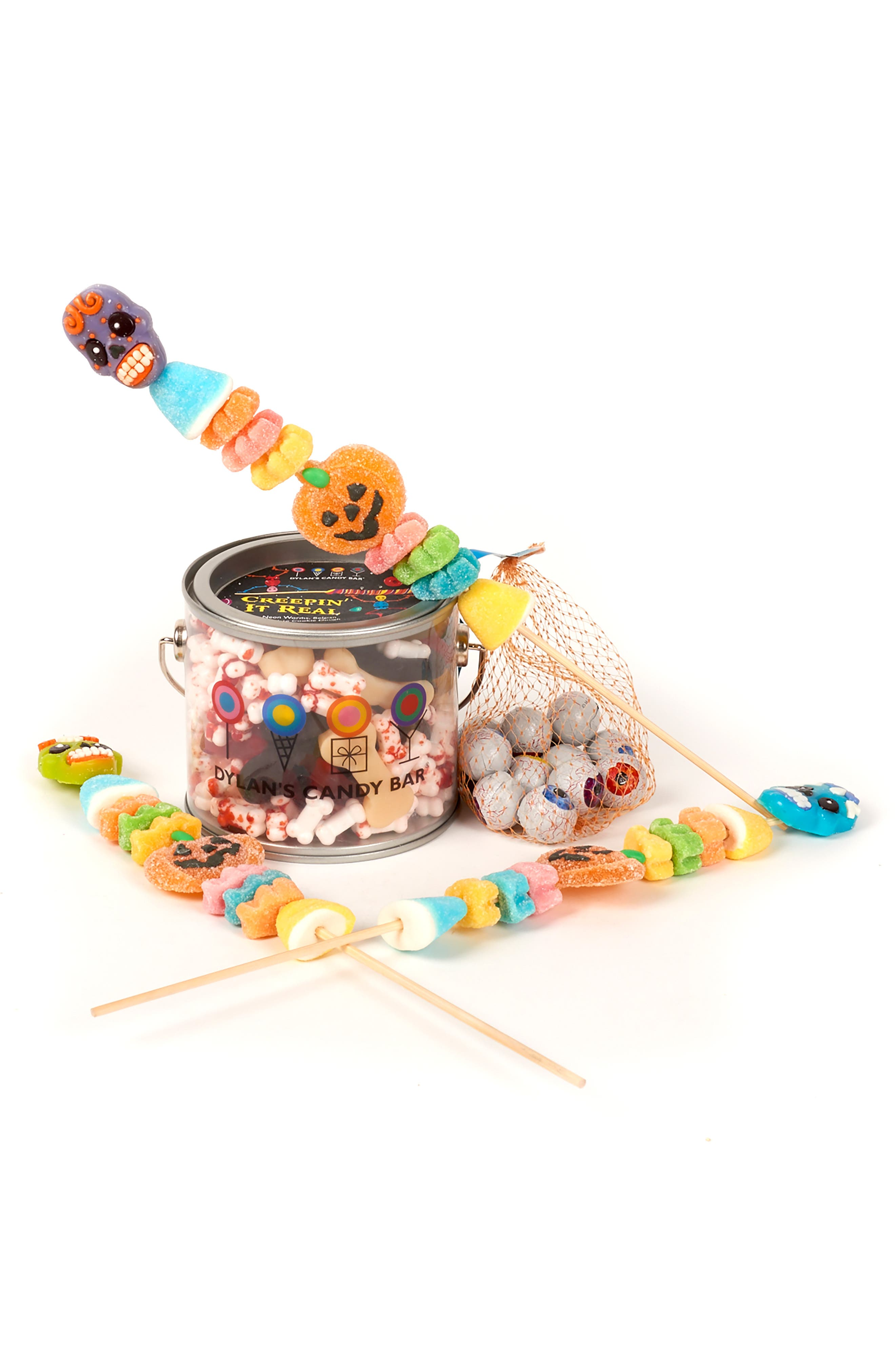 Creepin' It Real Assorted Candy Set,                             Main thumbnail 1, color,                             ORANGE MULTI