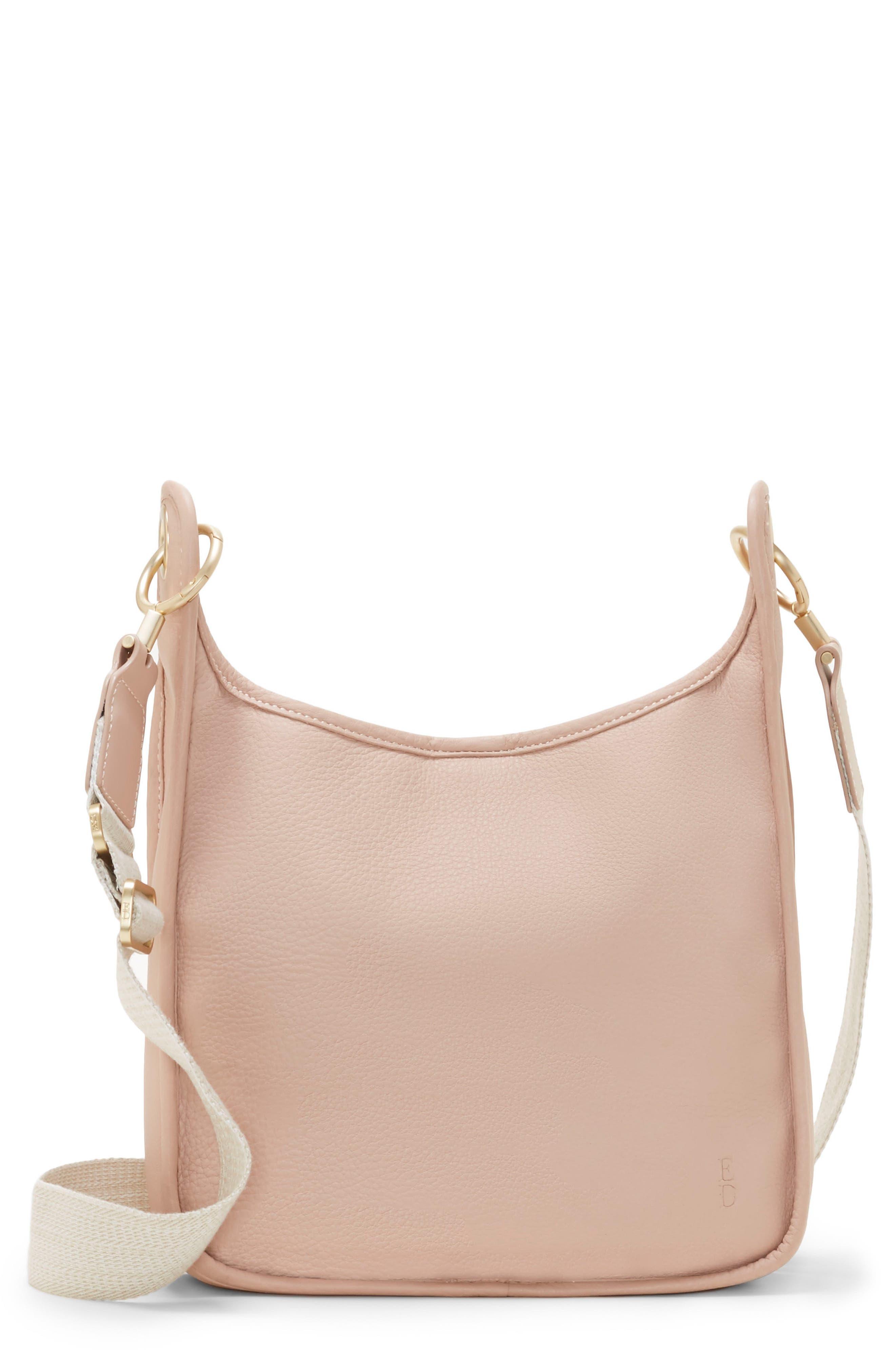 Leather Crossbody Bag,                             Main thumbnail 2, color,