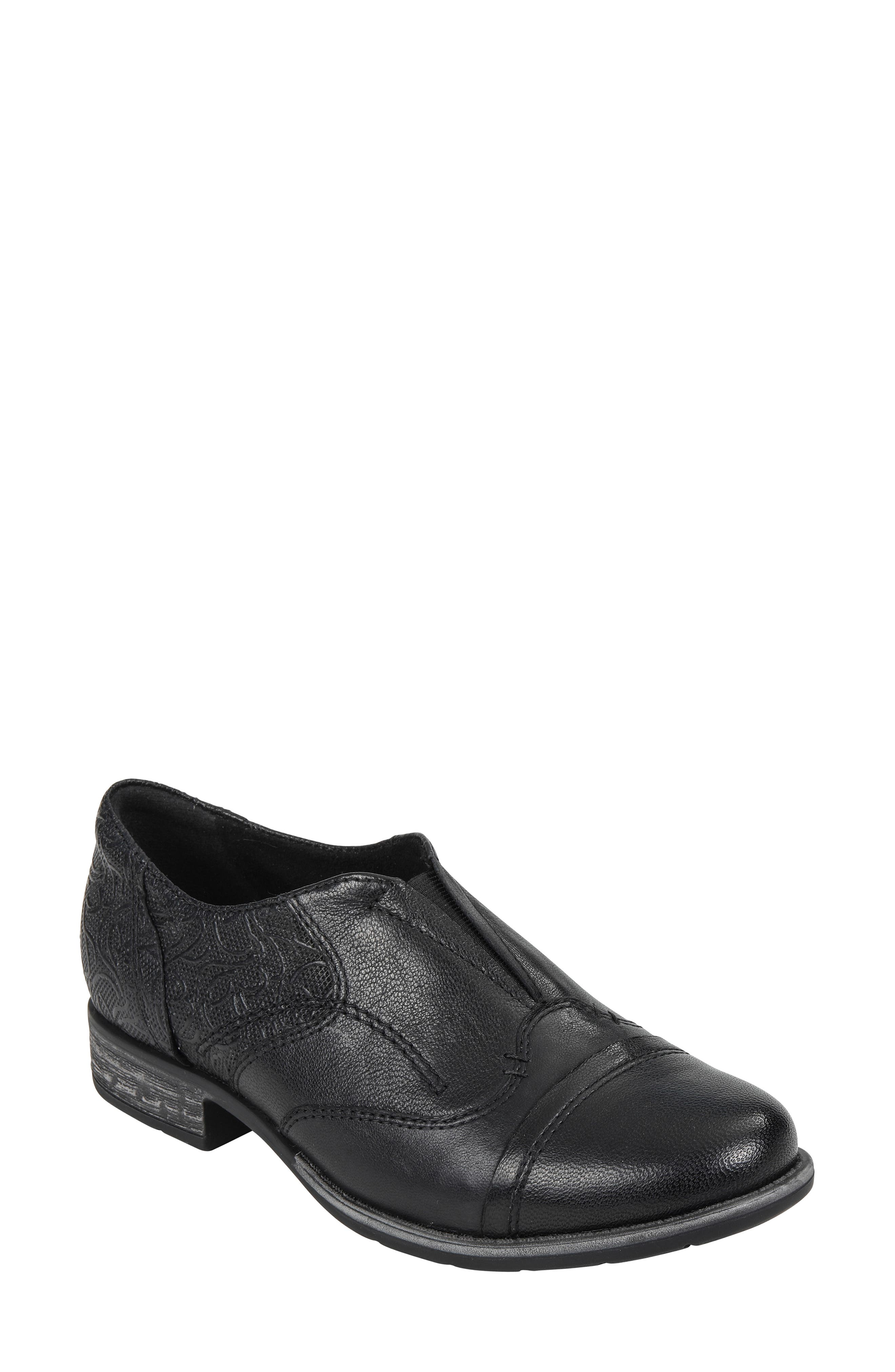 EARTH<SUP>®</SUP> Blythe Loafer, Main, color, BLACK LEATHER