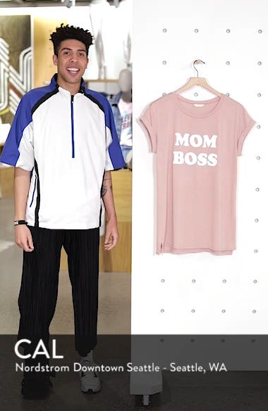 Off-Duty Mother Tee, sales video thumbnail