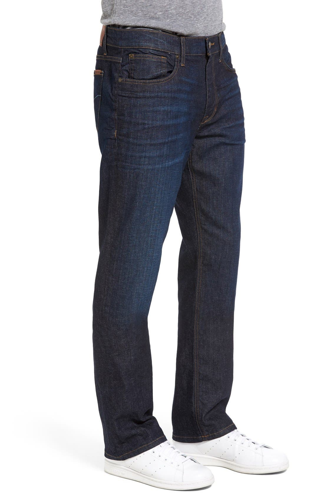 Classic Straight Fit Jeans,                             Alternate thumbnail 8, color,                             TIMOTHY