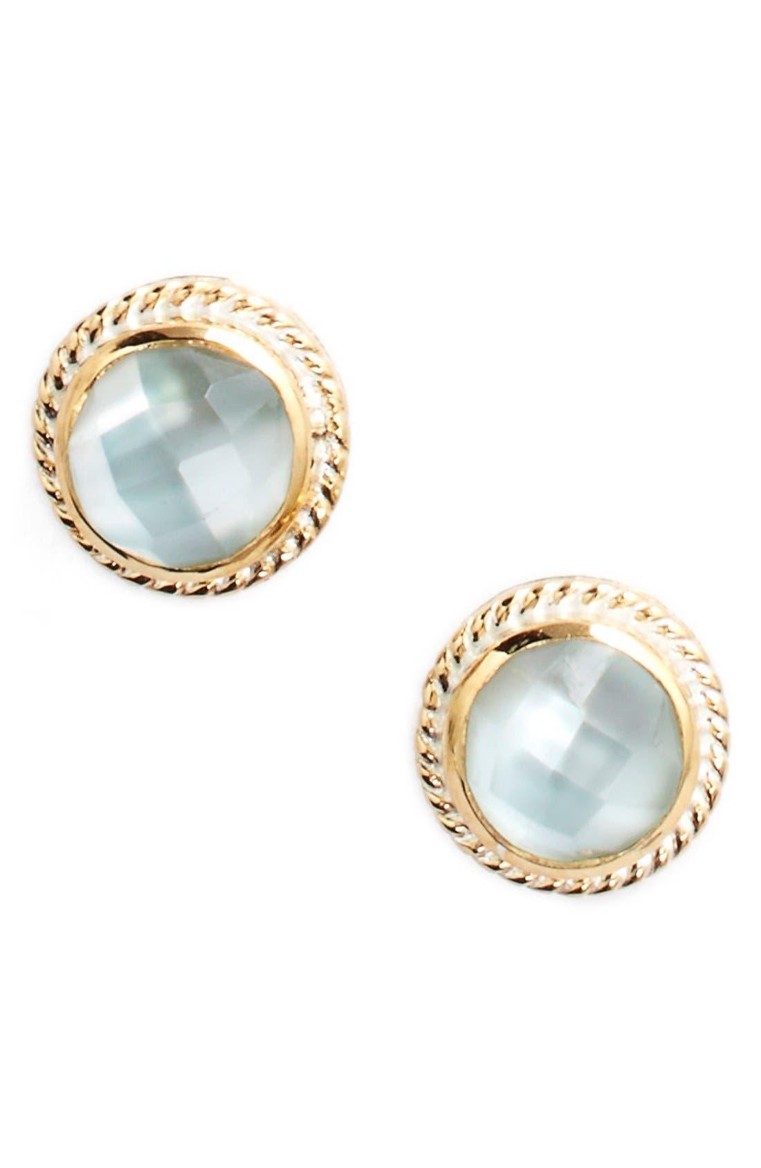Stone Stud Earrings,                             Main thumbnail 13, color,