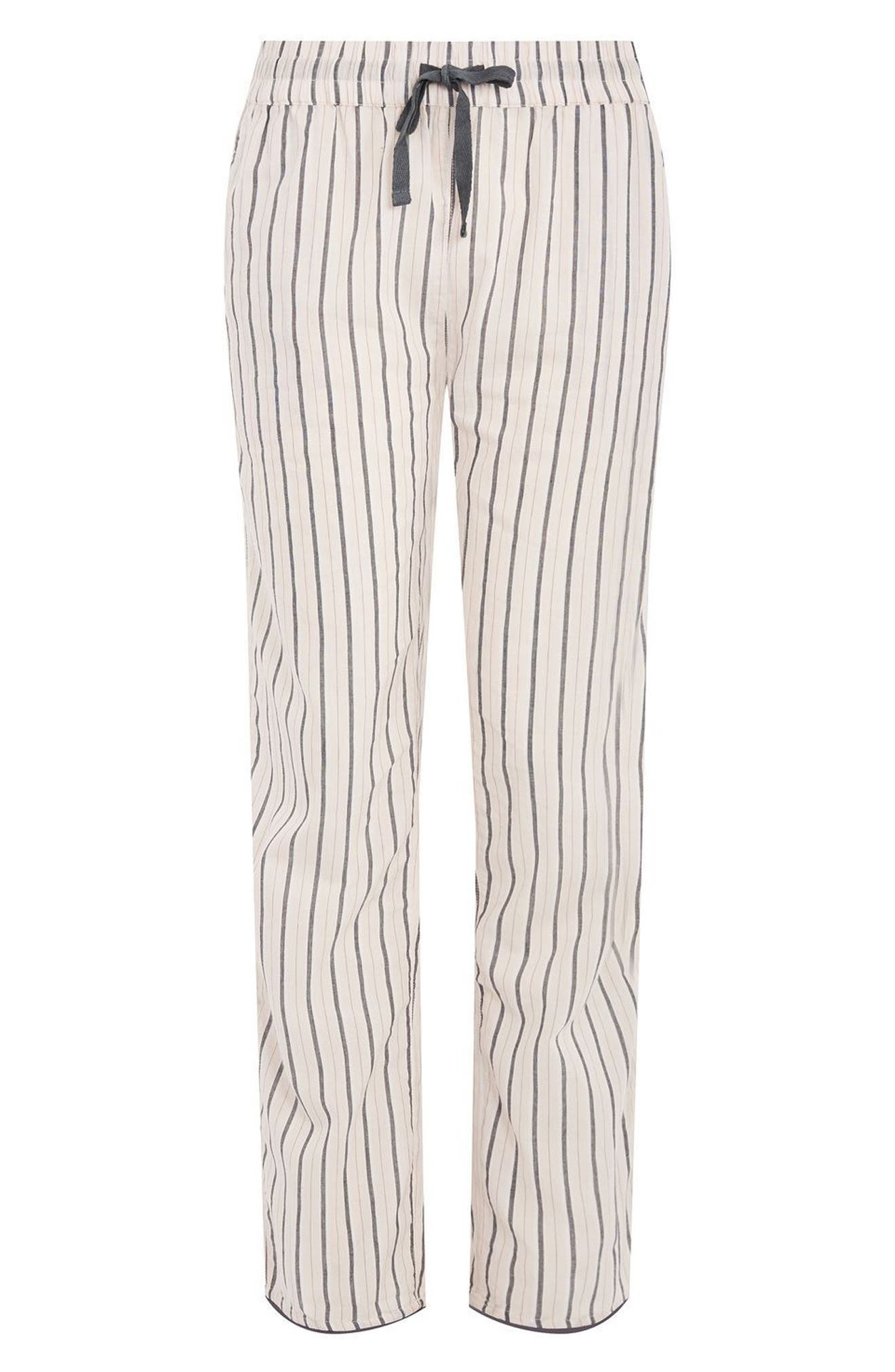 Stripe Pajama Pants,                             Alternate thumbnail 3, color,                             650