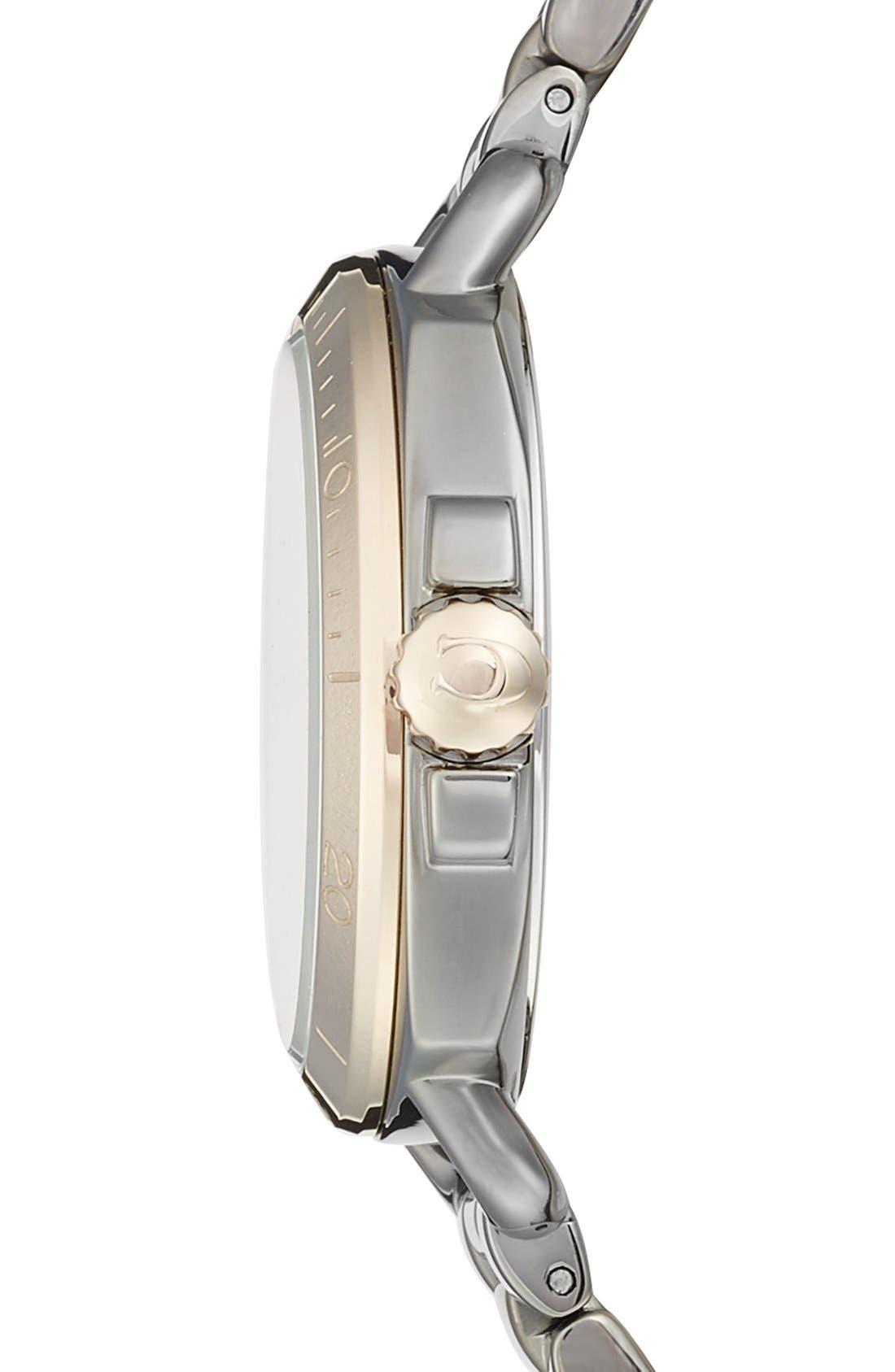 'Tatum' Square Bracelet Watch, 36mm,                             Alternate thumbnail 3, color,                             020