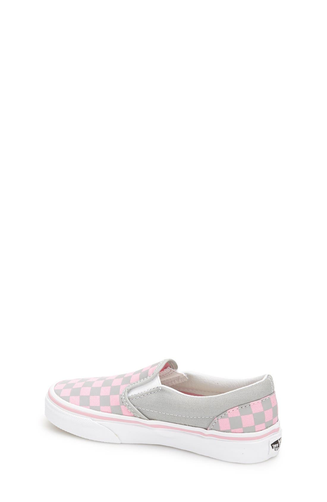 'Classic - Checkerboard' Slip-On,                             Alternate thumbnail 4, color,