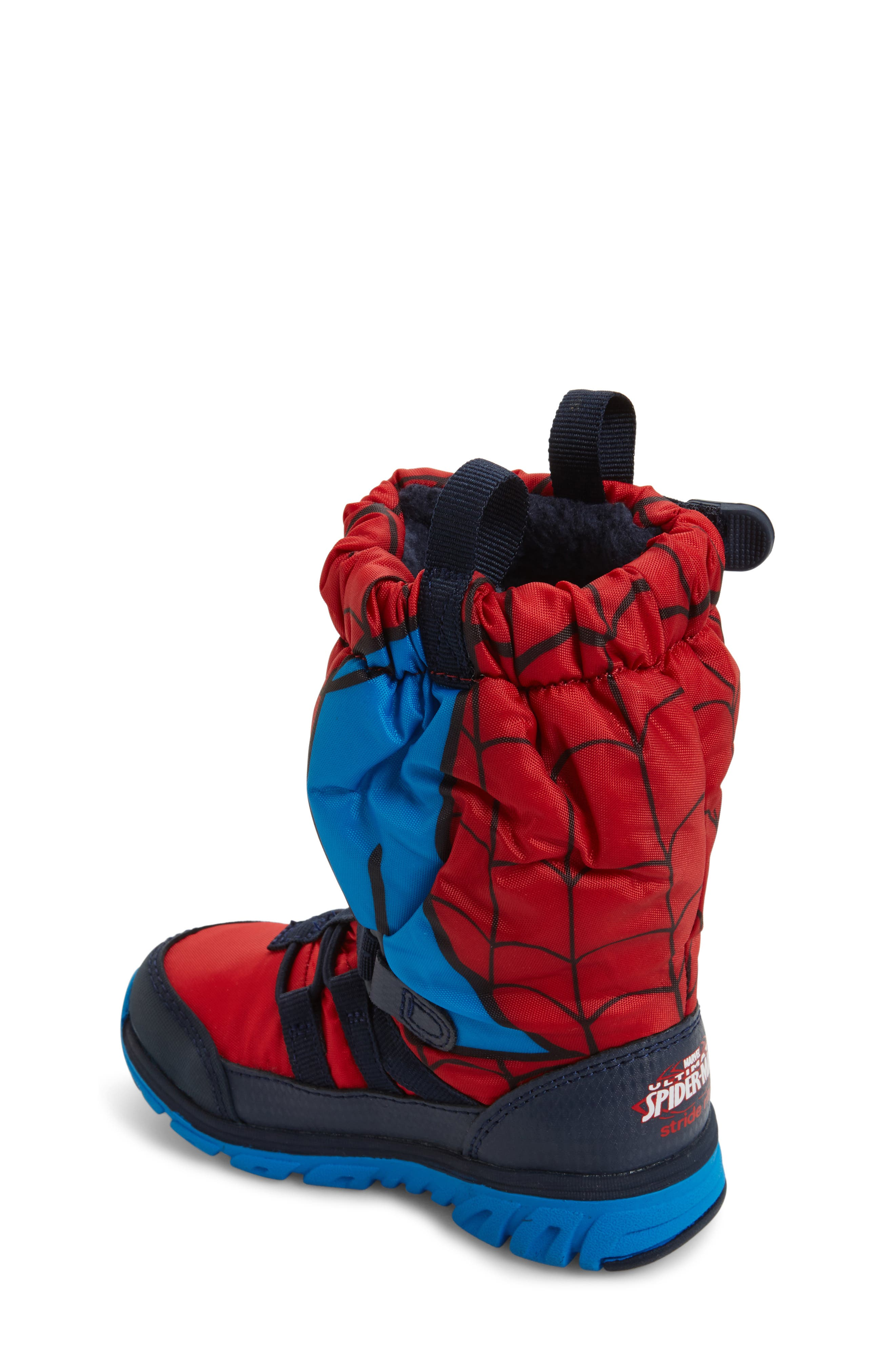 Made2Play<sup>®</sup> Spiderman Water Resistant Boot,                             Alternate thumbnail 2, color,                             600