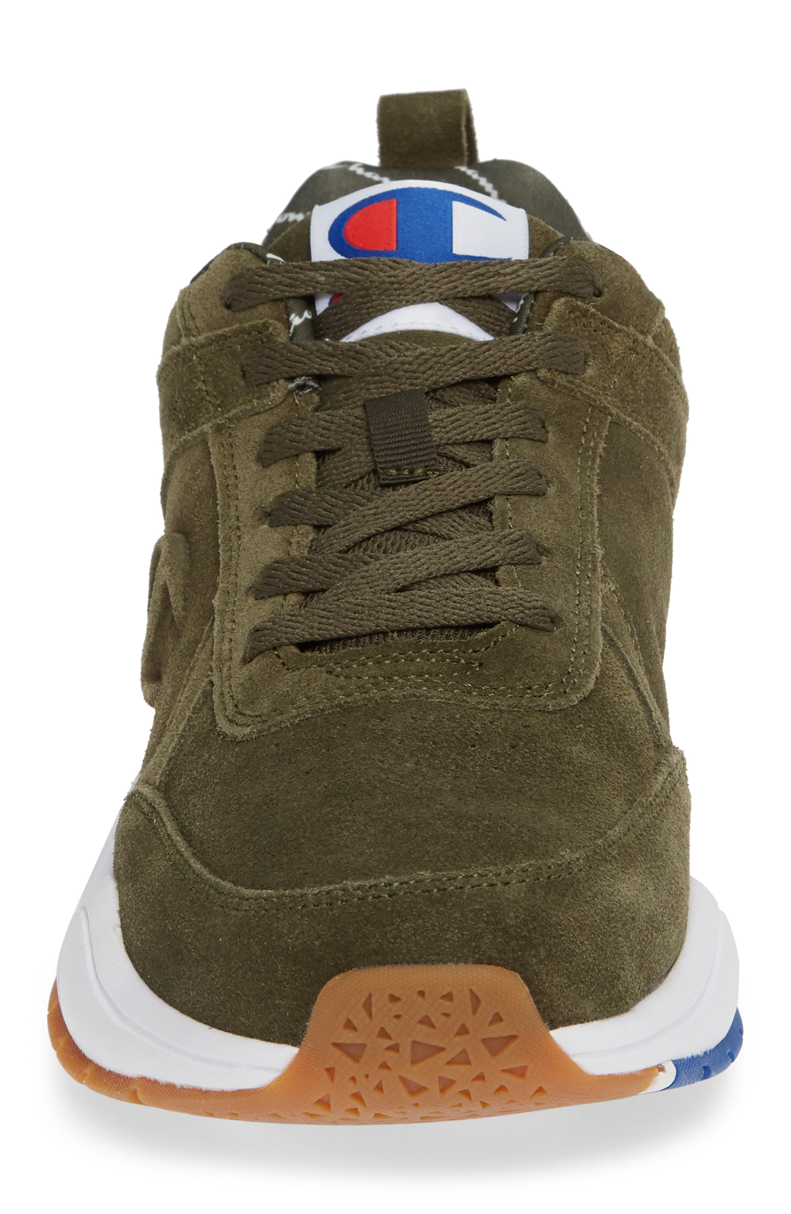 93Eighteen Sneaker,                             Alternate thumbnail 4, color,                             HIKER GREEN SUEDE