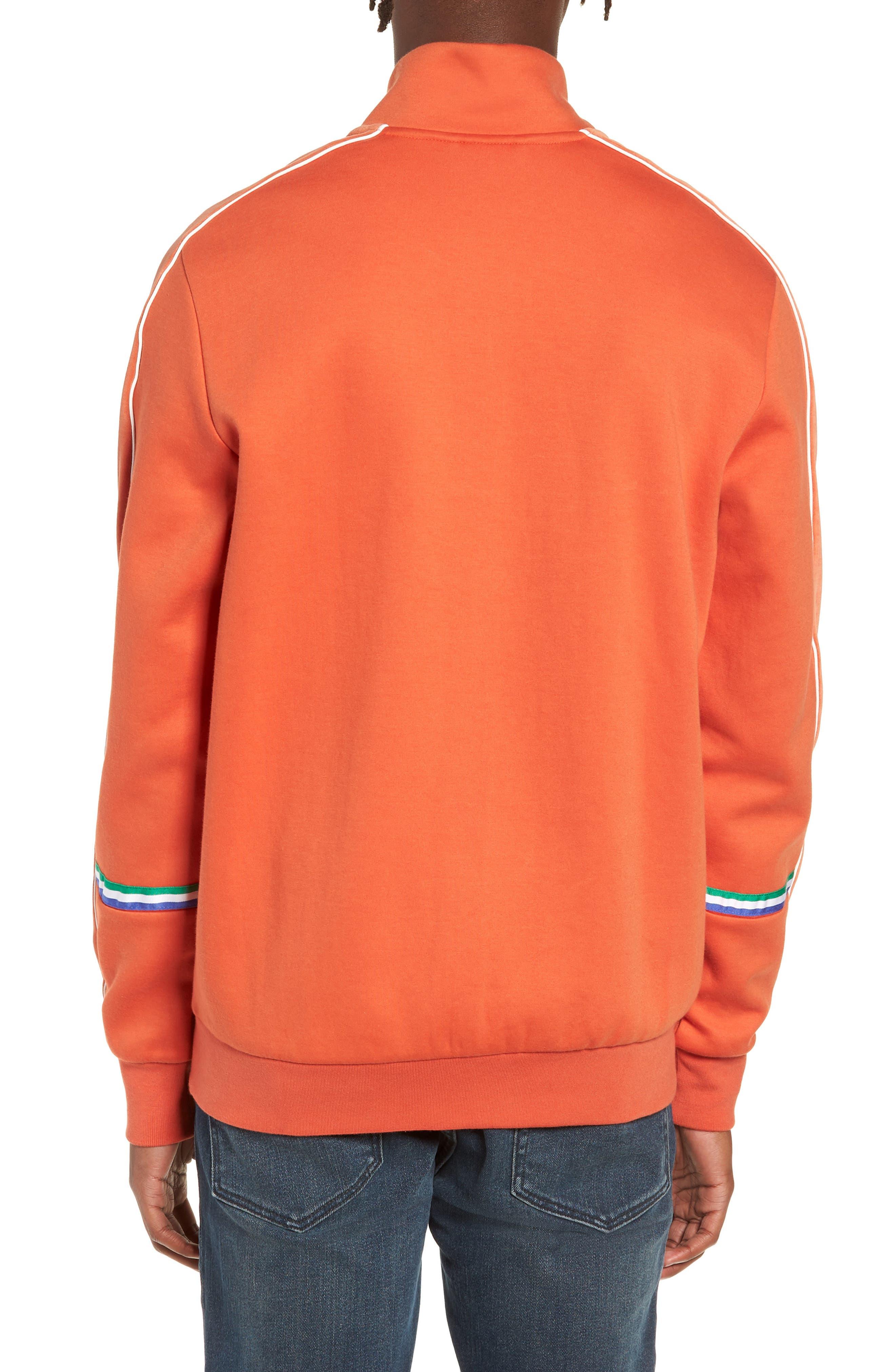 X Big Sean T7 Track Jacket,                             Alternate thumbnail 2, color,                             BURNT OCHRE