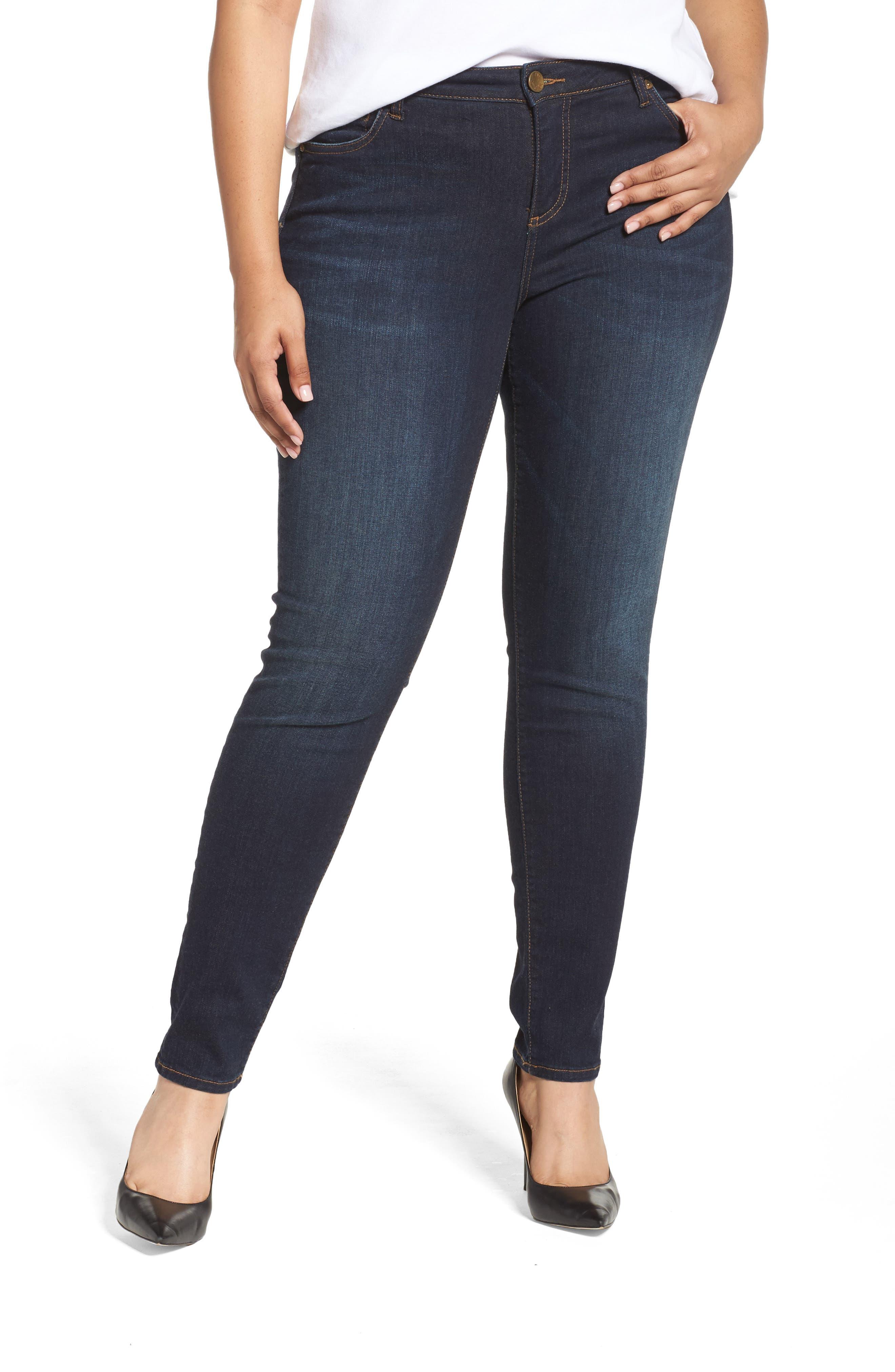 Diana Skinny Jeans,                             Main thumbnail 1, color,                             BLINDING W/ EURO BASE WASH