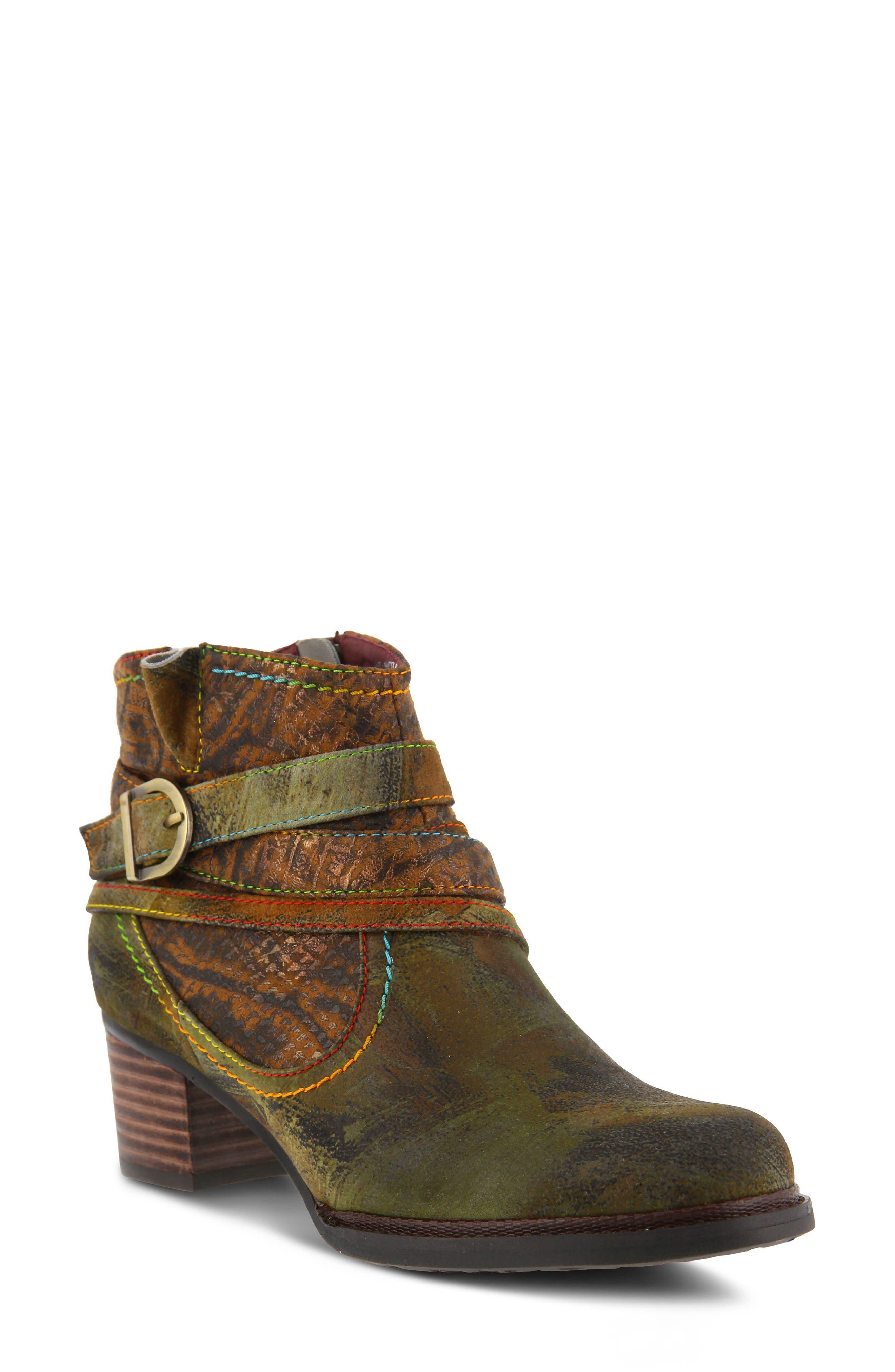 L'Artiste Shazzam Boot,                         Main,                         color, CAMEL LEATHER