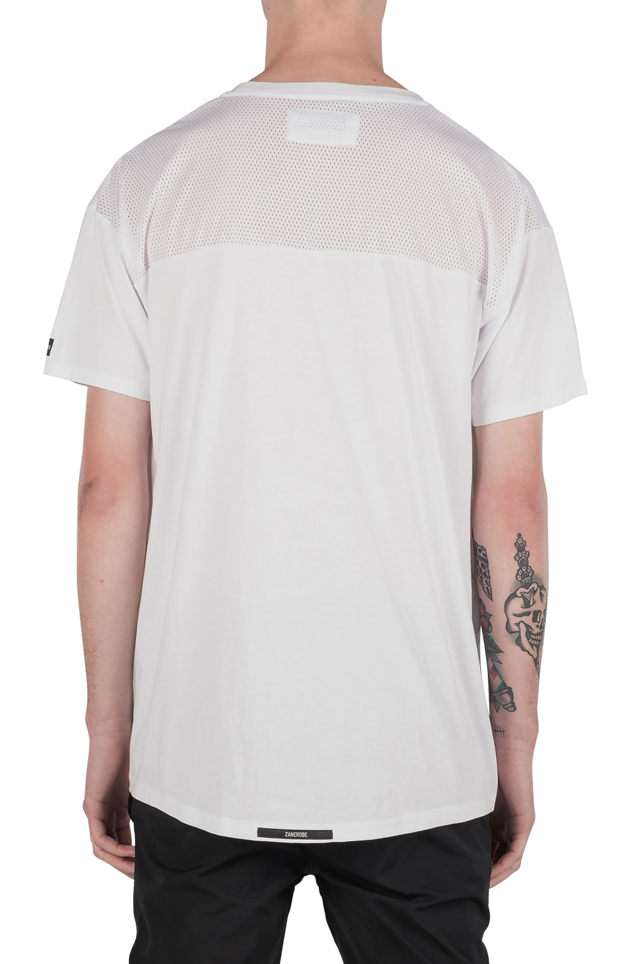 Mesh Rugger T-Shirt,                             Alternate thumbnail 2, color,                             100