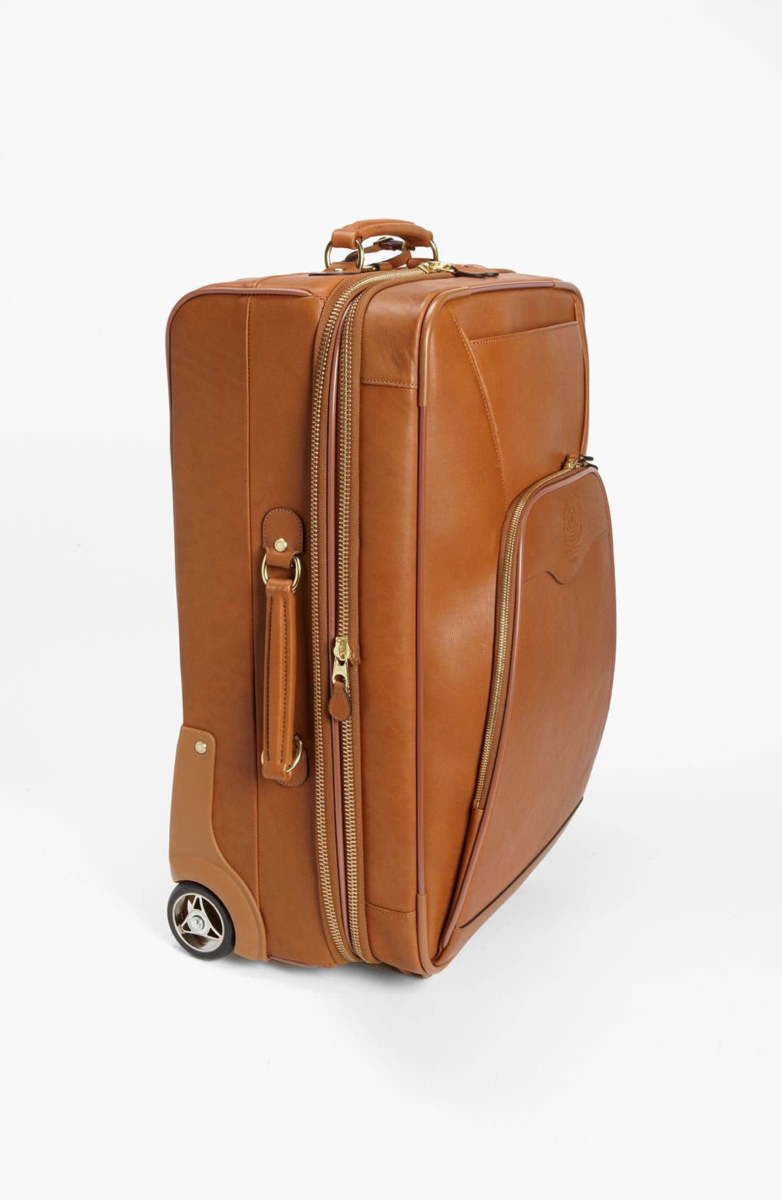 'Pontoon II' Leather Carry-On Suitcase,                             Alternate thumbnail 2, color,                             260