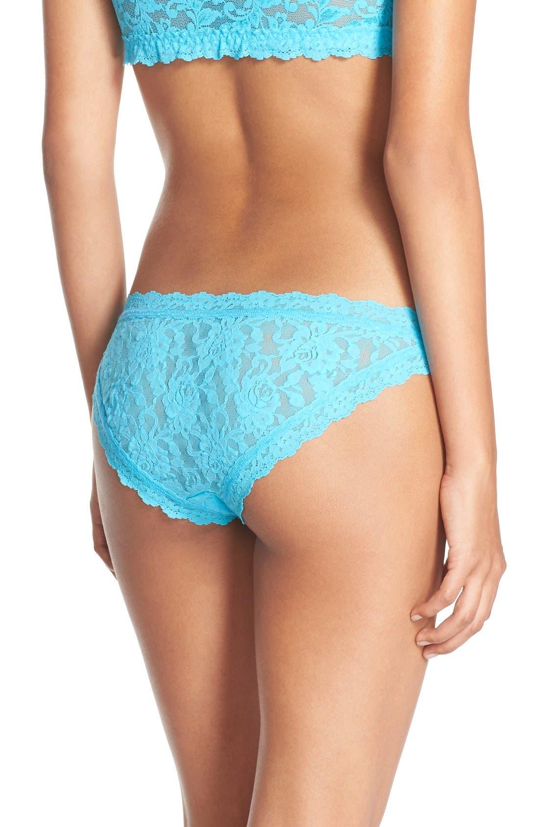 'Signature Lace' Brazilian Bikini,                             Alternate thumbnail 43, color,