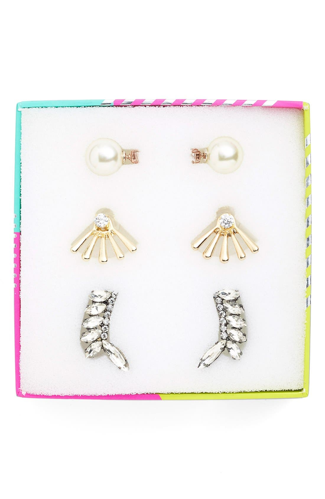 'Adornment - Play By Ear' Earring Gift Set,                             Alternate thumbnail 2, color,                             100