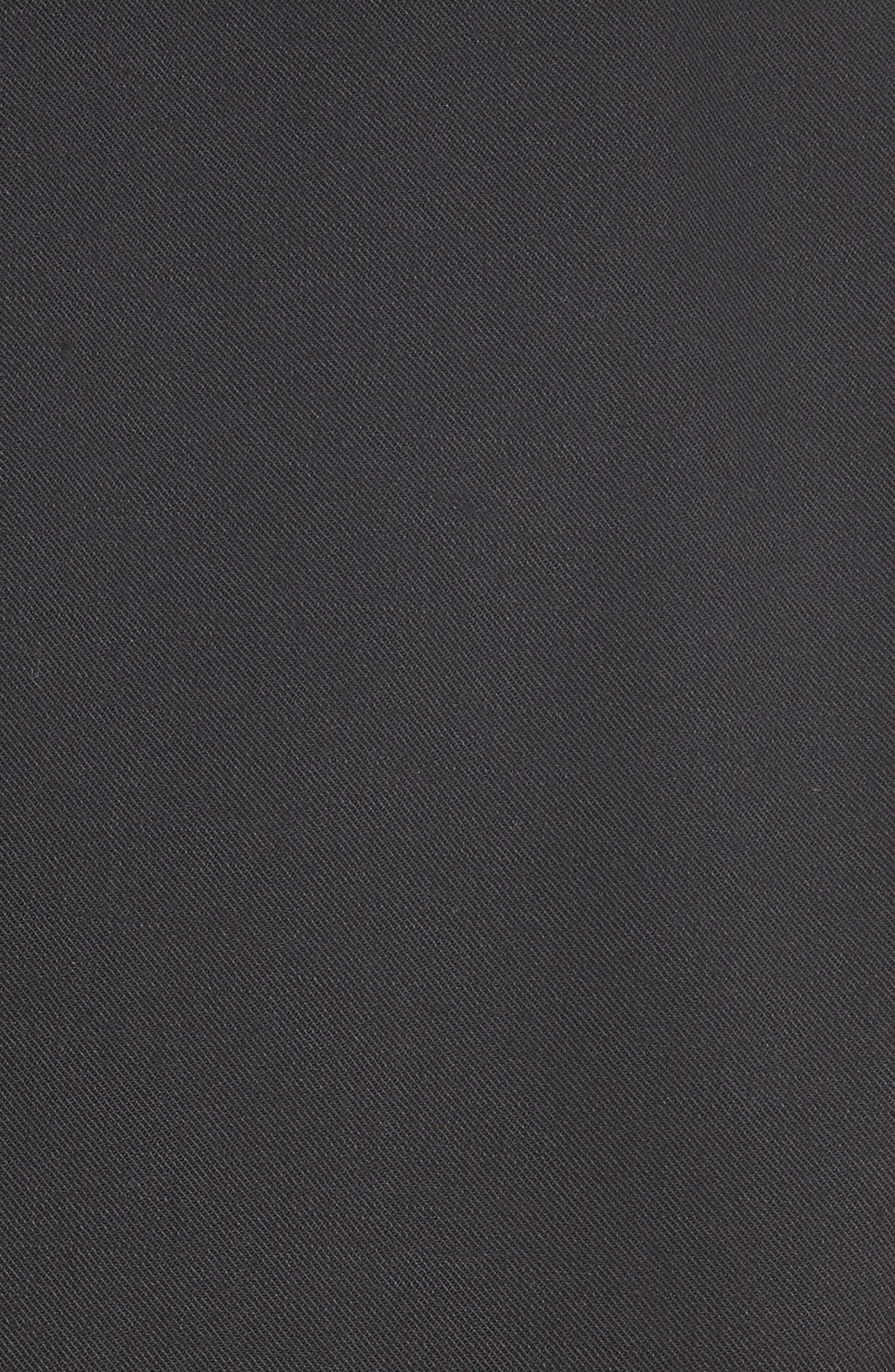Denim & Wool Blend Layered Jacket,                             Alternate thumbnail 6, color,                             001