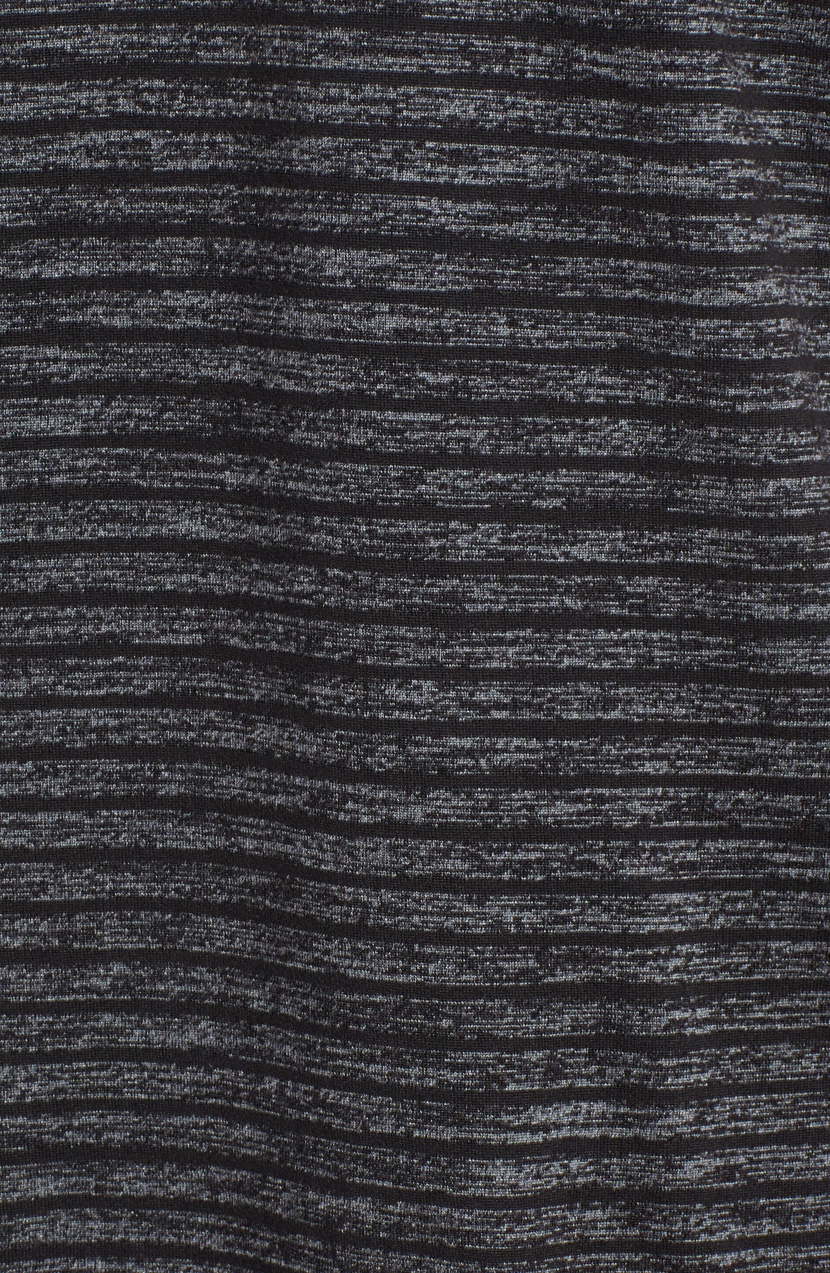 Stripe Crewneck T-Shirt,                             Alternate thumbnail 5, color,                             030