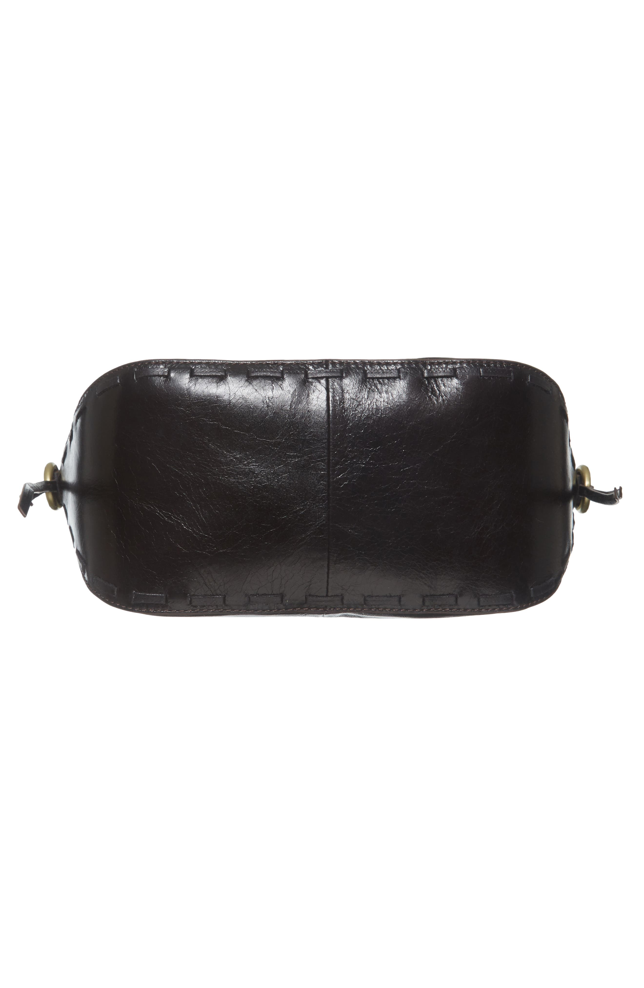 Muse Calfskin Leather Crossbody Bag,                             Alternate thumbnail 6, color,                             001