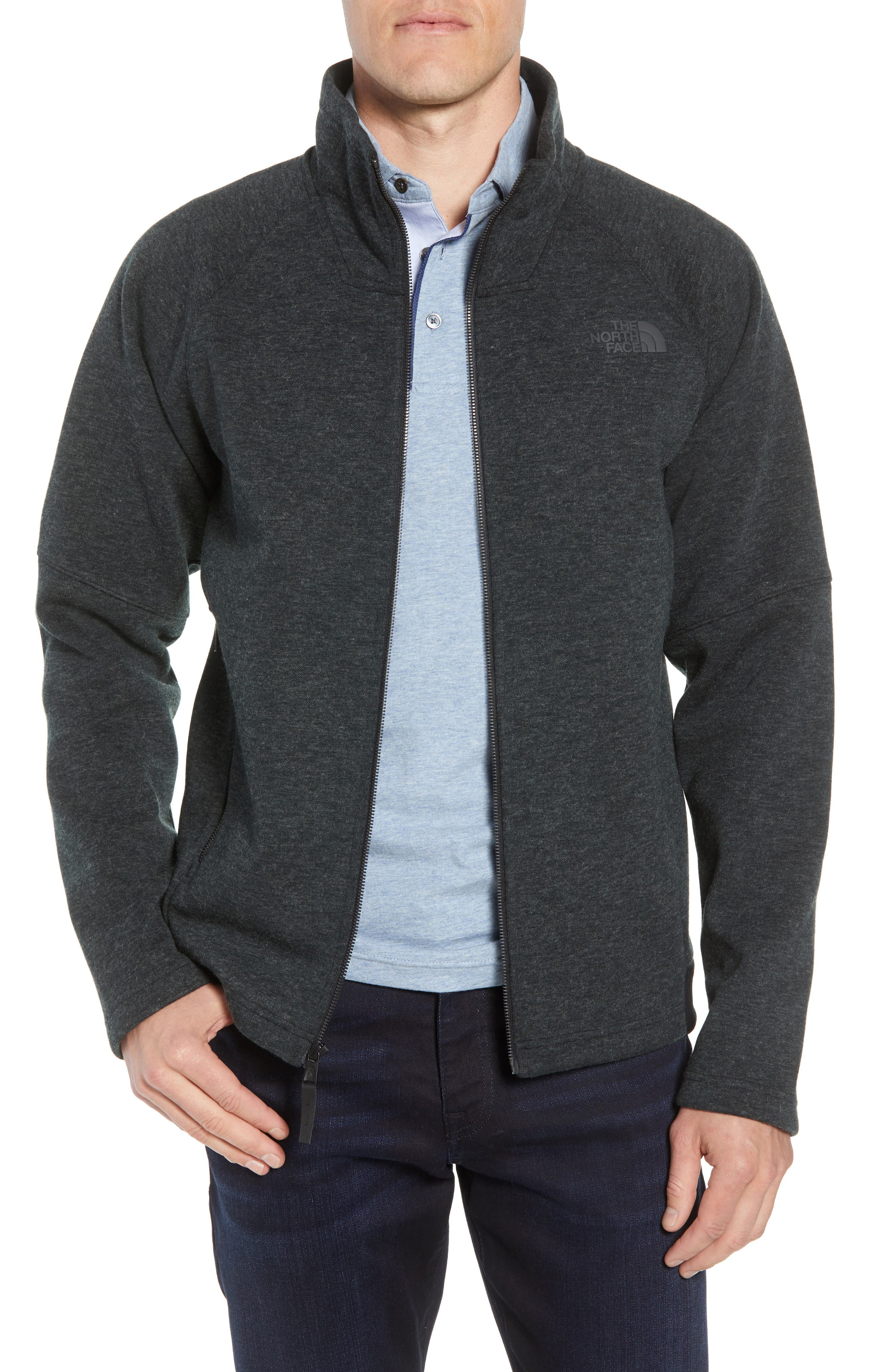 The North Face Far Northern Full Zip Jacket, Black