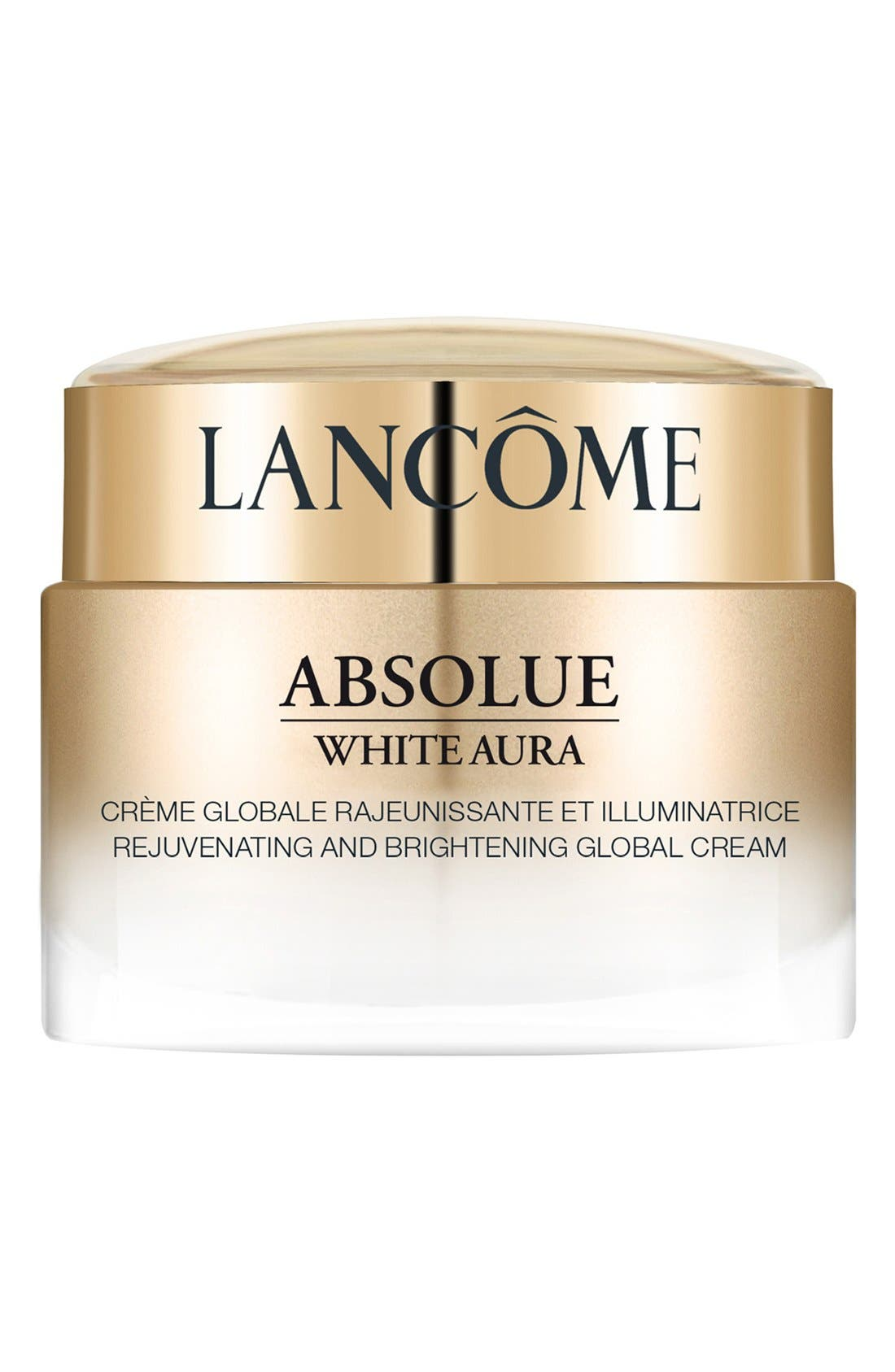 Absolue White Aura Rejuvenating and Brightening Global Cream,                             Main thumbnail 1, color,                             000