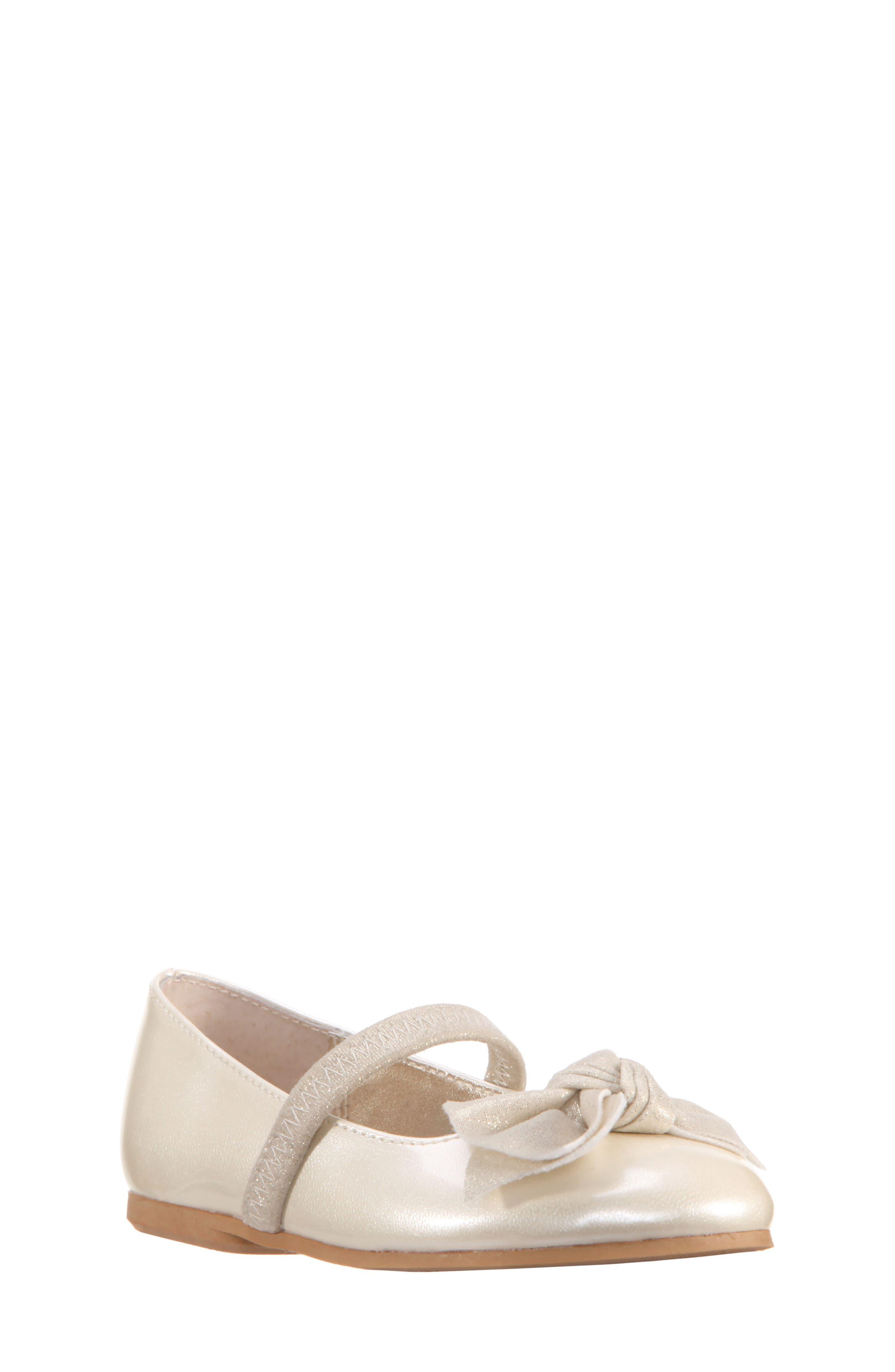 Kaytelyn-T Glitter Bow Ballet Flat,                             Main thumbnail 7, color,