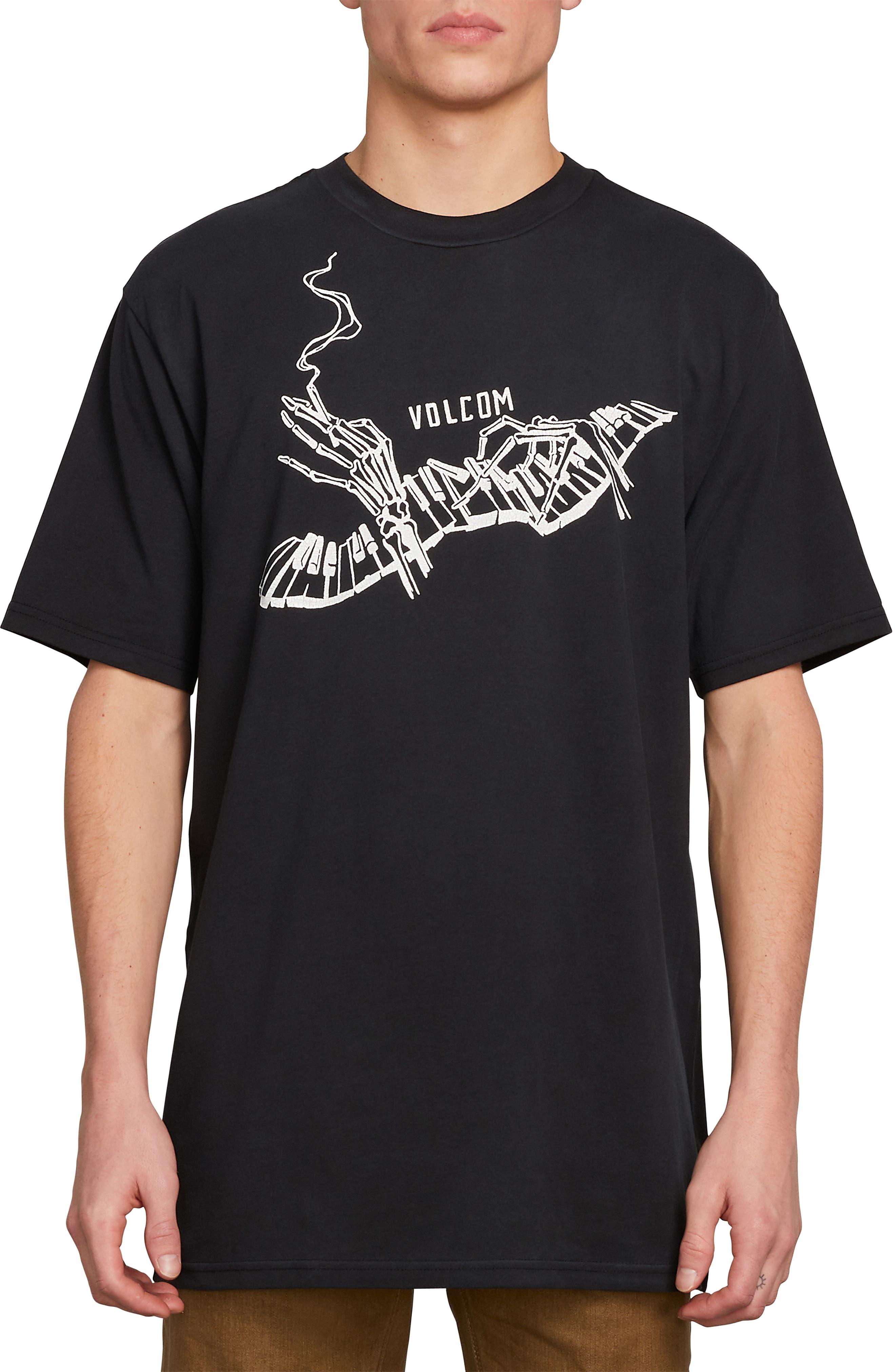 Volcom Death Scale Graphic T-Shirt, Black