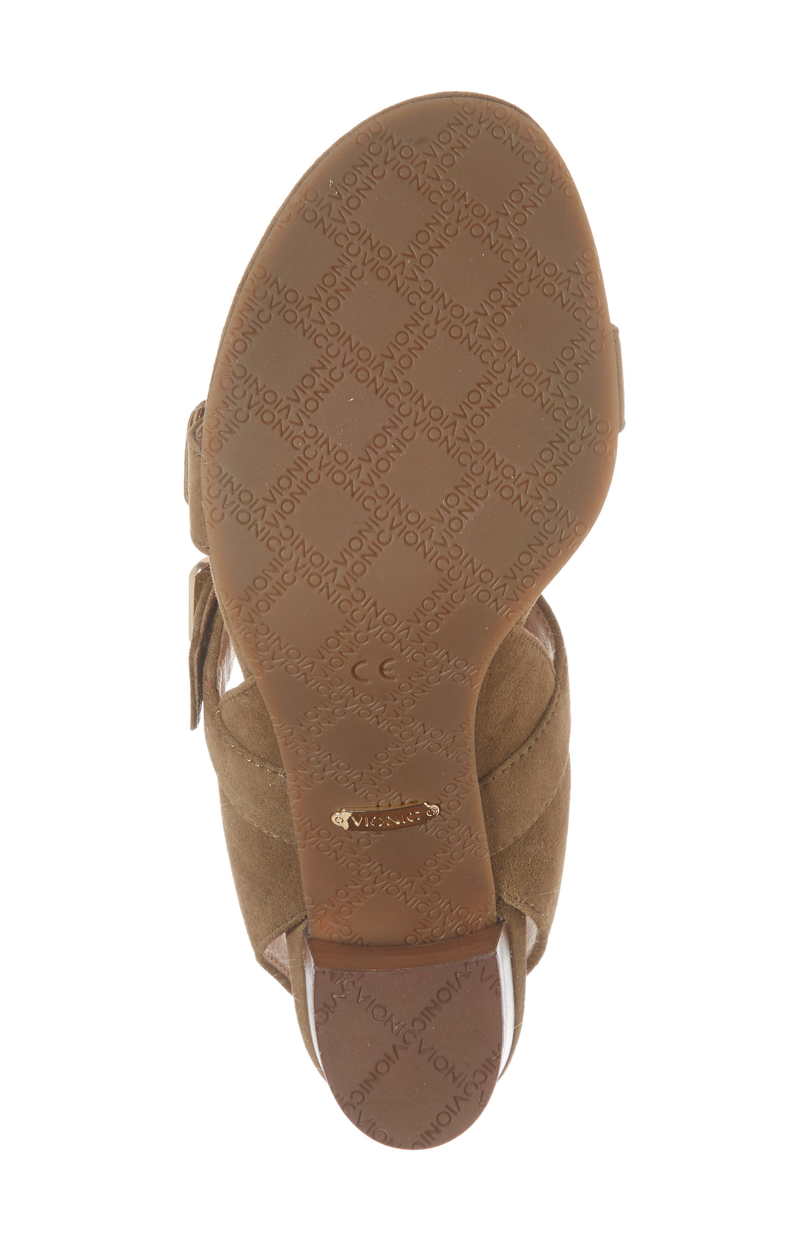 Carmel Block Heel Sandal,                             Alternate thumbnail 6, color,                             310
