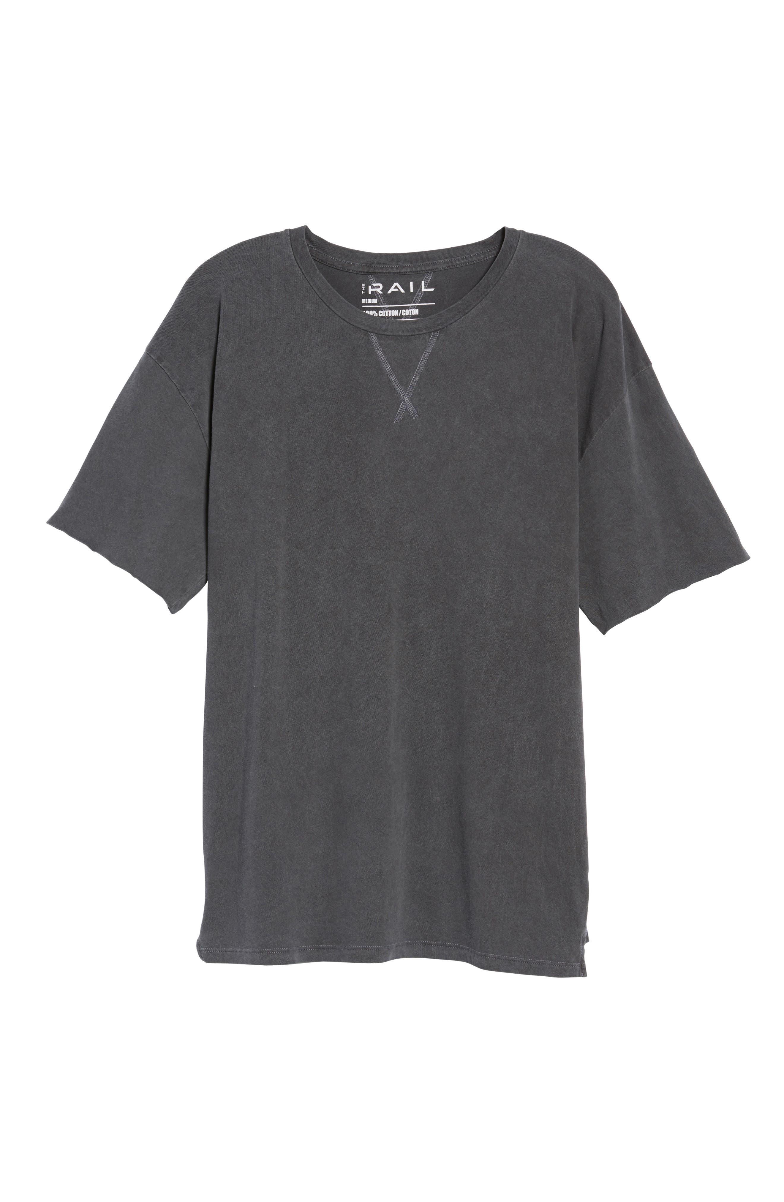 Mineral Wash T-Shirt,                             Alternate thumbnail 6, color,                             001