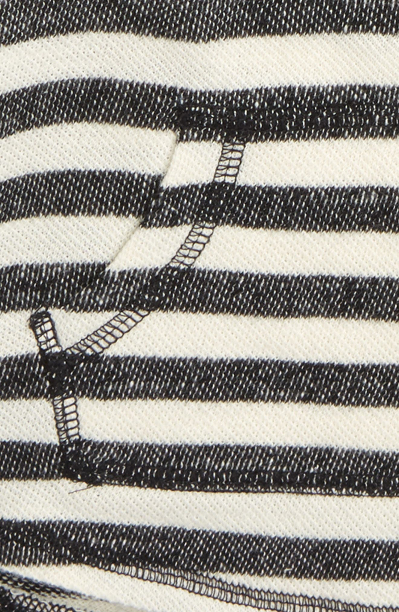 Stripe Henley Hoodie,                             Alternate thumbnail 2, color,