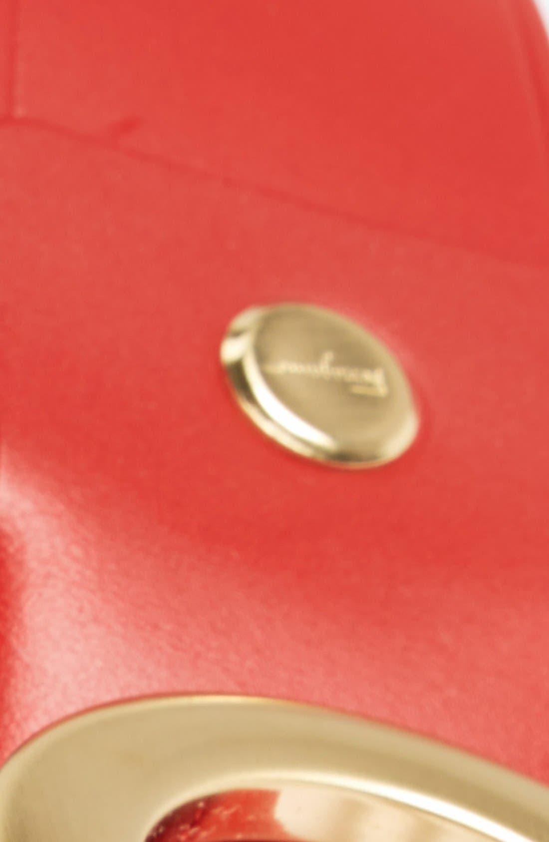 Calfskin Belt,                             Alternate thumbnail 13, color,