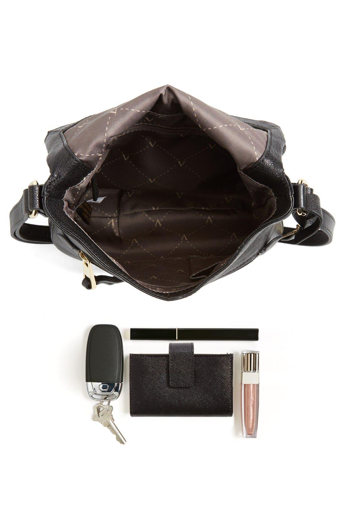 'Tala' Leather Crossbody Bag,                             Alternate thumbnail 2, color,                             001