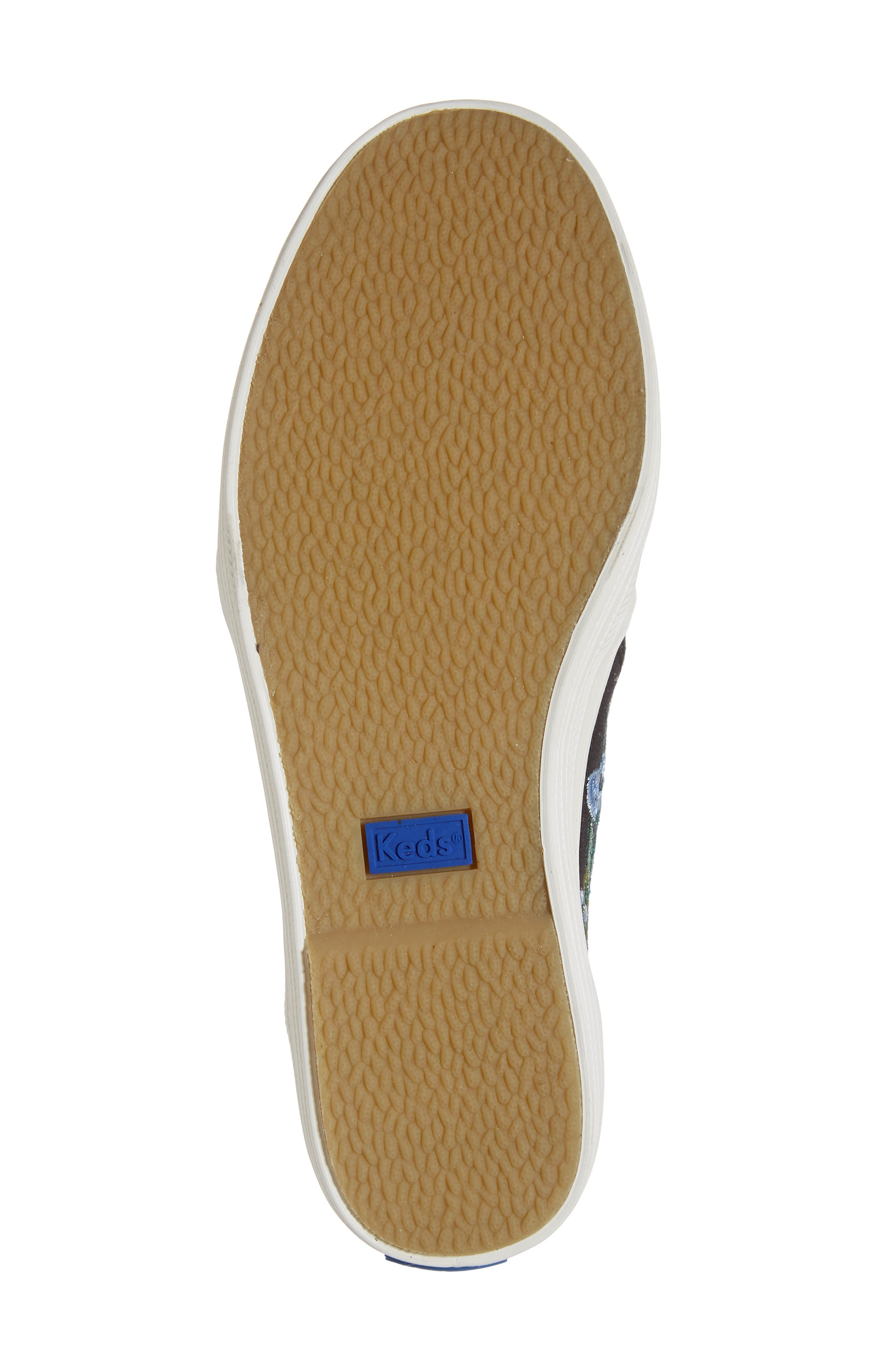x Rifle Paper Co. Birch Triple Decker Slip-On Sneaker,                             Alternate thumbnail 6, color,                             HERB GARDEN