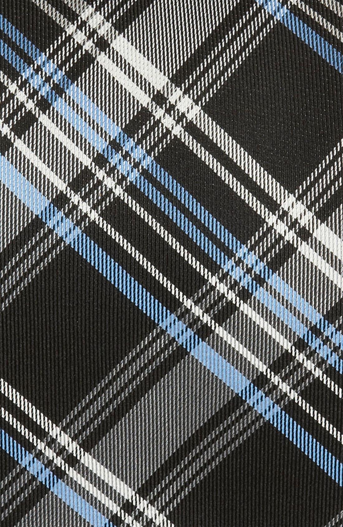 Nordstrom Woven Silk Tie,                             Alternate thumbnail 2, color,                             001