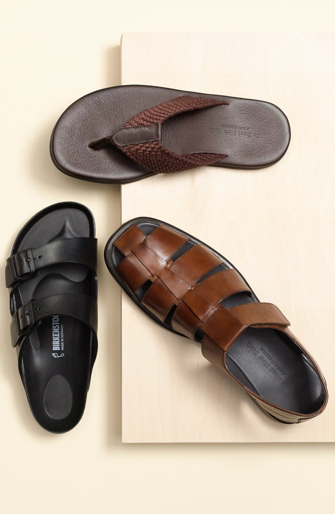 'Barbados' Fisherman Sandal,                             Alternate thumbnail 5, color,                             219