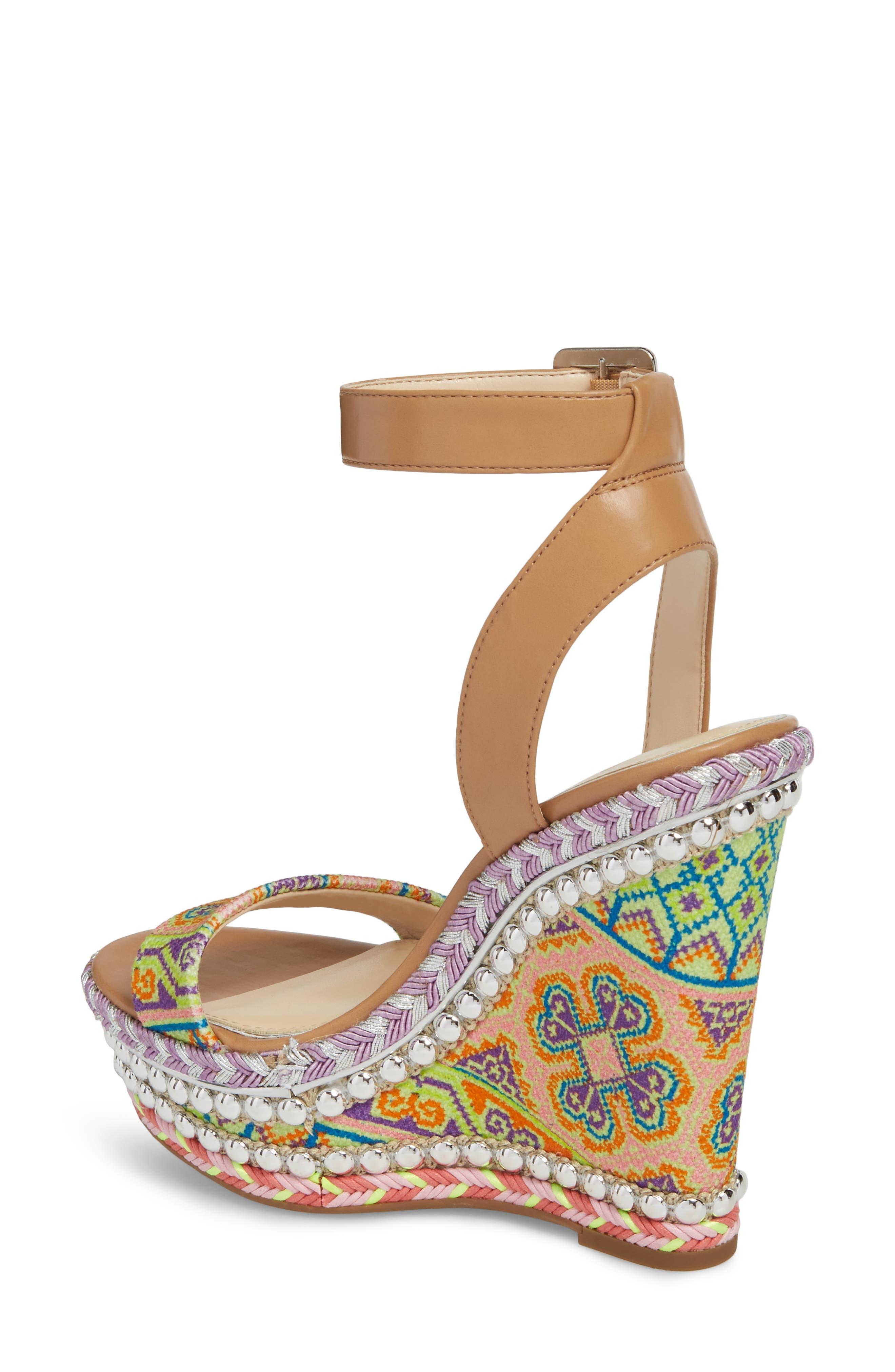 Alinda Embellished Wedge Sandal,                             Alternate thumbnail 2, color,                             320