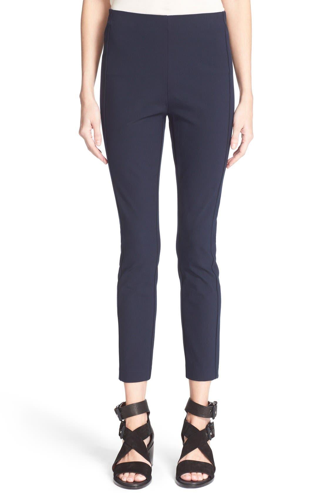 'Simone' Slim AnklePants,                         Main,                         color, SALUTE