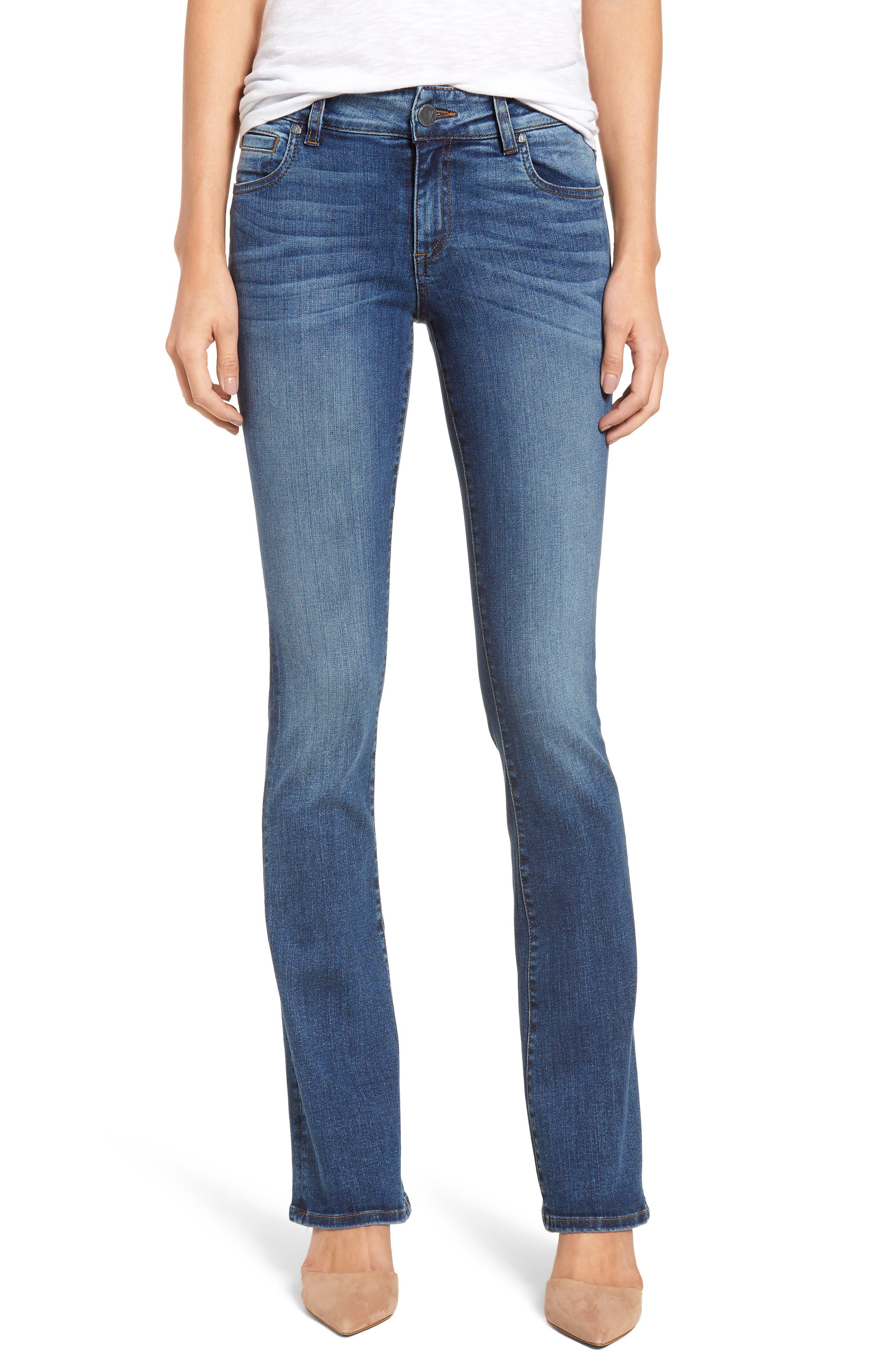 Natalie Bootcut Jeans,                         Main,                         color, 460