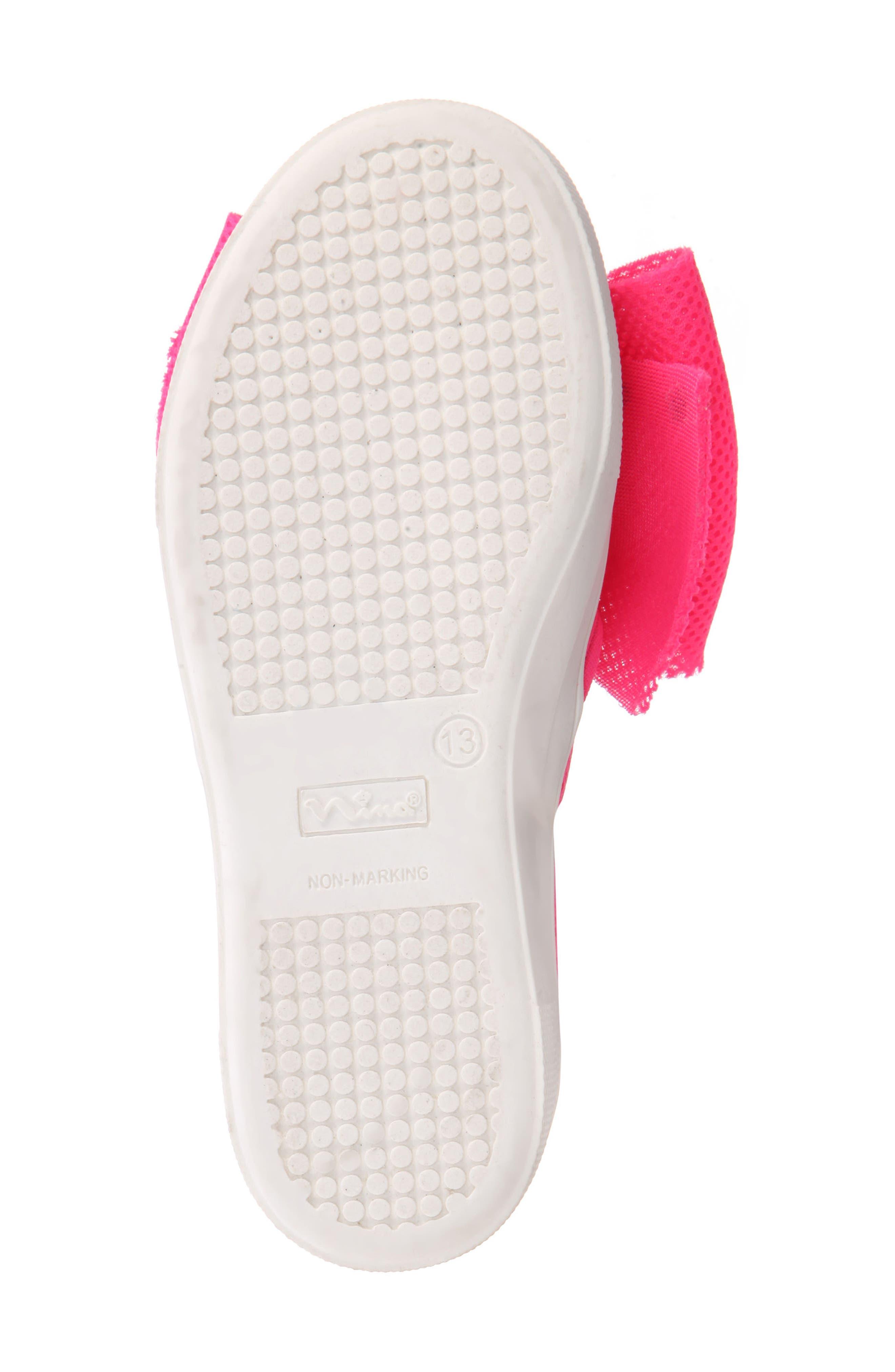 Mary Bow Slip-On Sneaker,                             Alternate thumbnail 17, color,