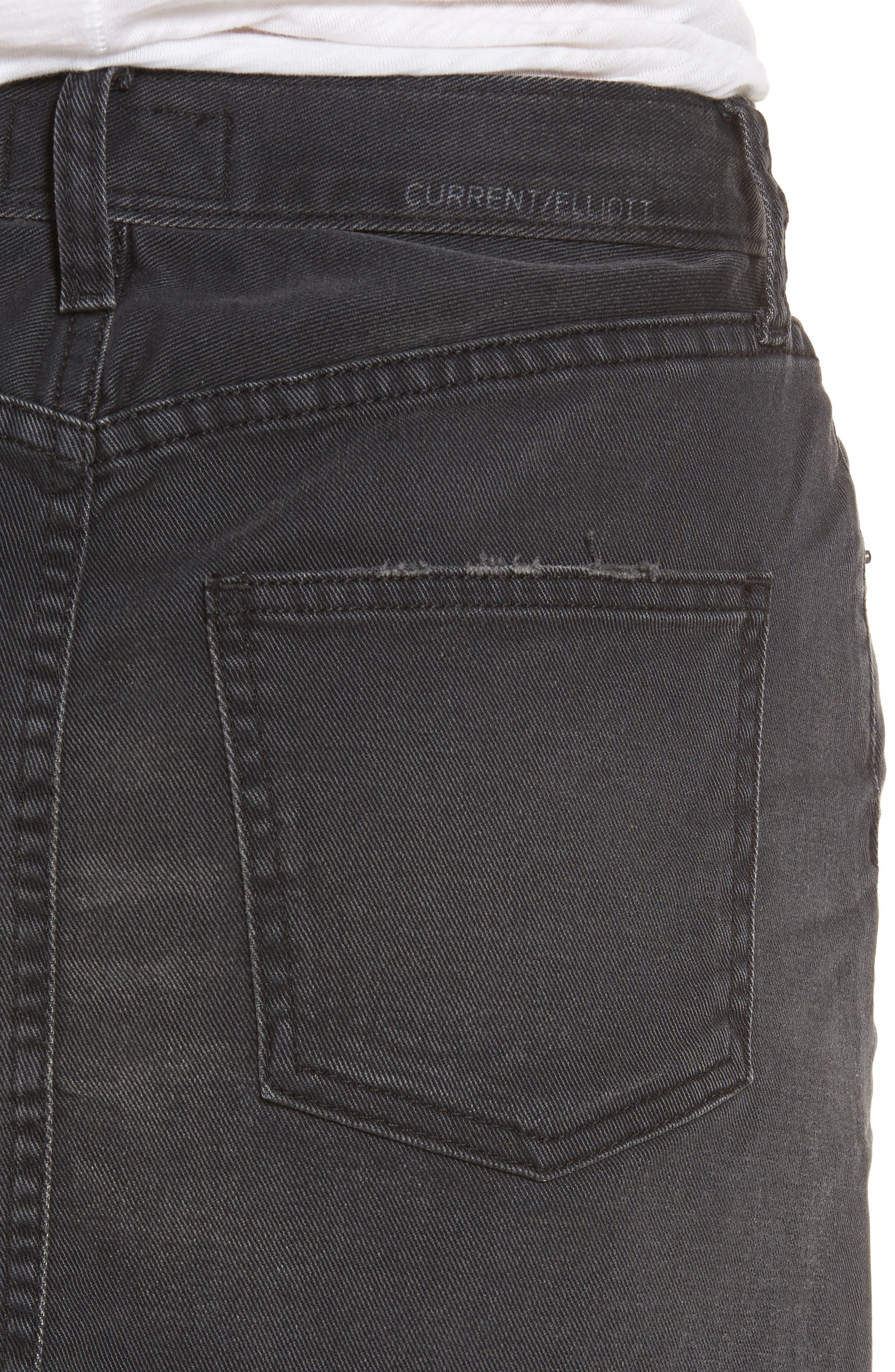 Cut Off Miniskirt,                             Alternate thumbnail 4, color,                             017