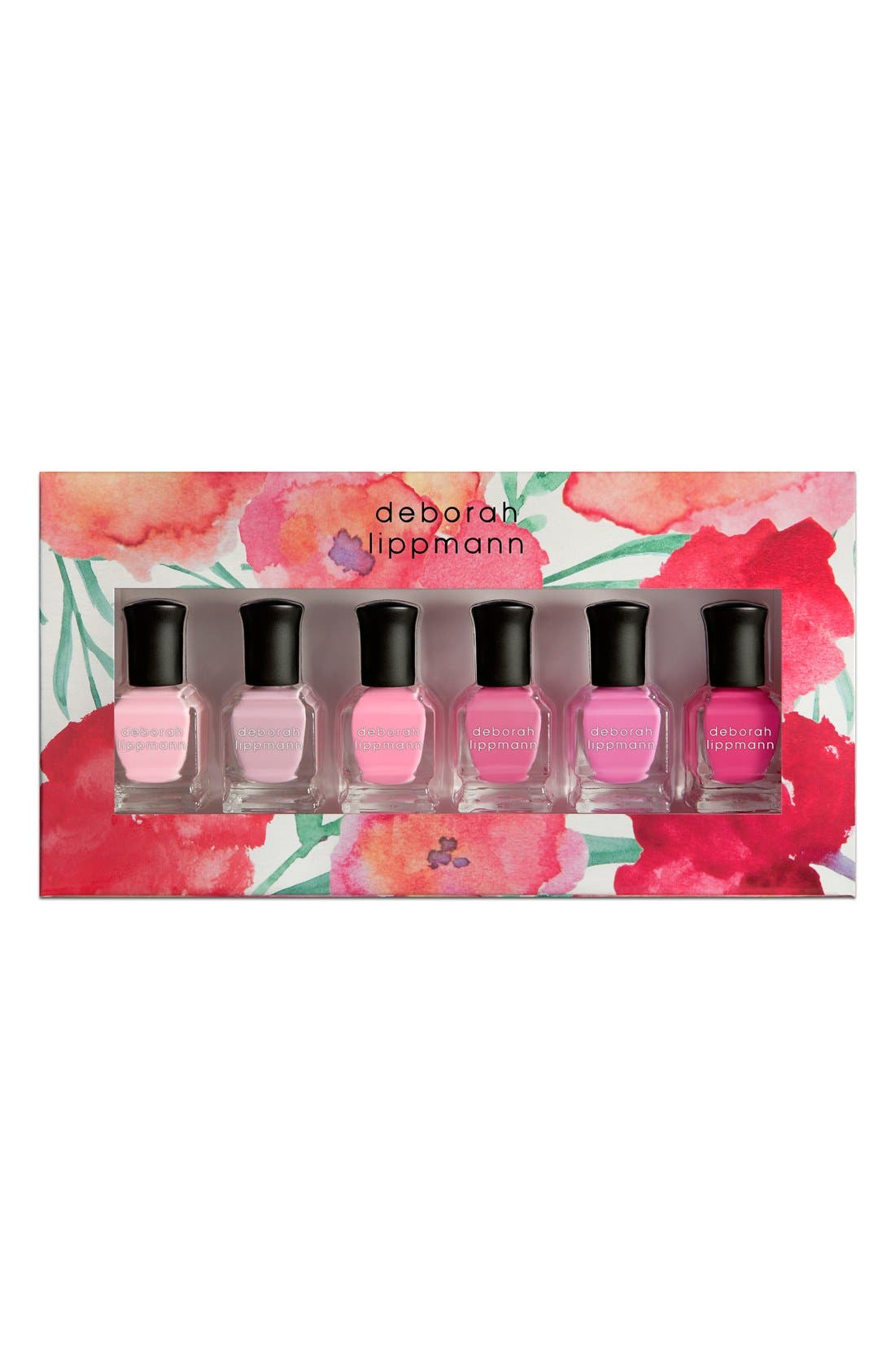 'Pretty in Pink' Nail Color Set,                             Alternate thumbnail 2, color,                             000