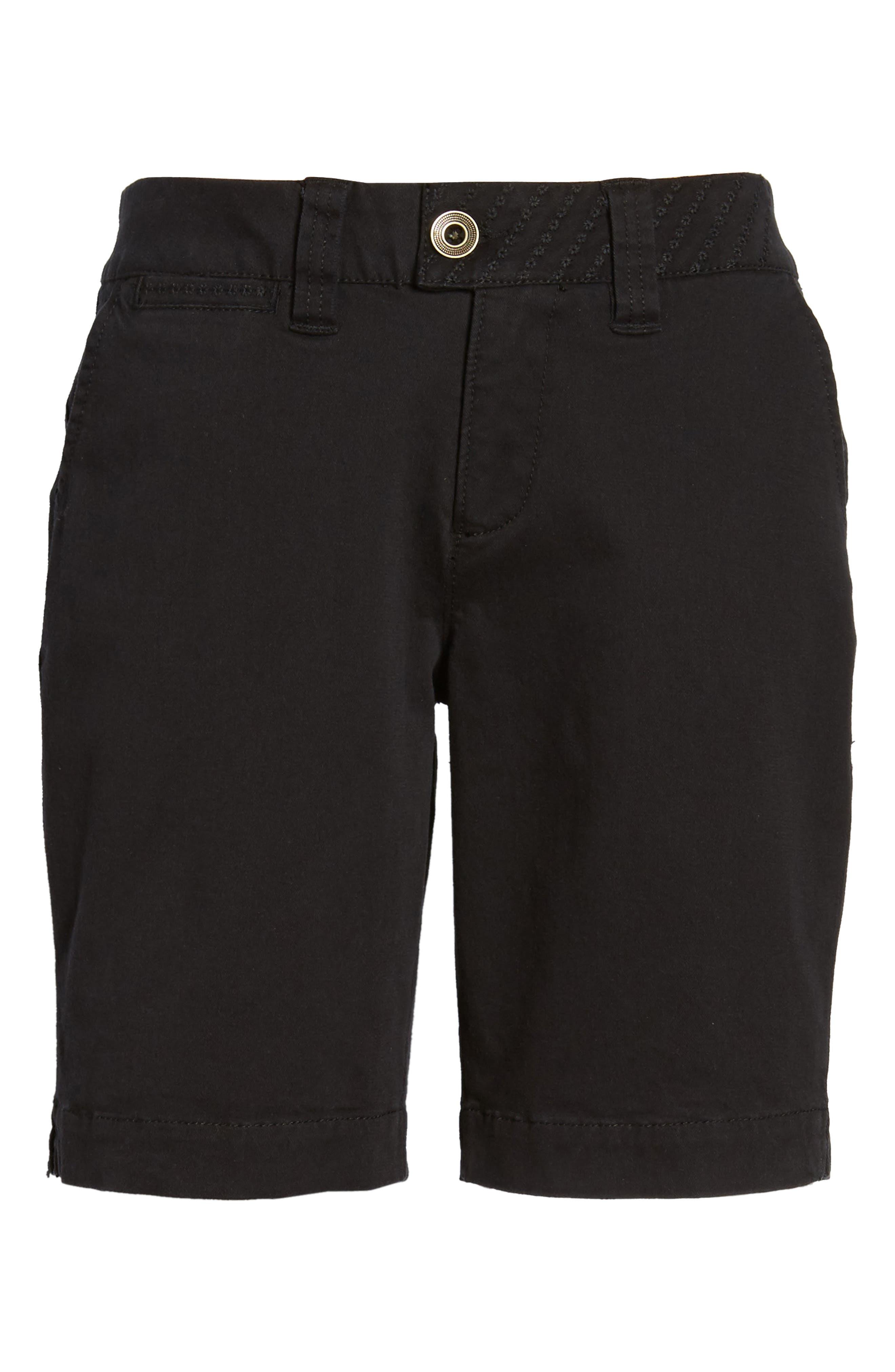 Creston Twill Shorts,                             Alternate thumbnail 6, color,                             001